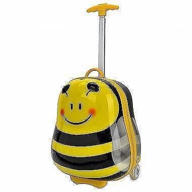 Детские чемодан-тележка Bouncie