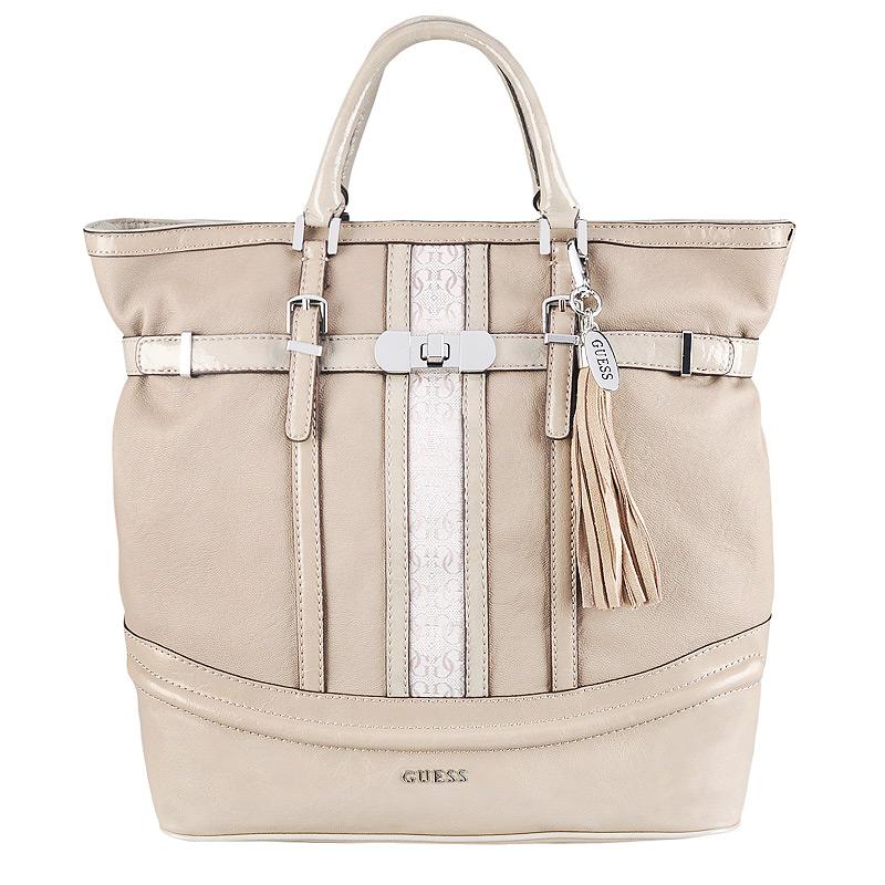 Женская сумка, серая, Guess, США.