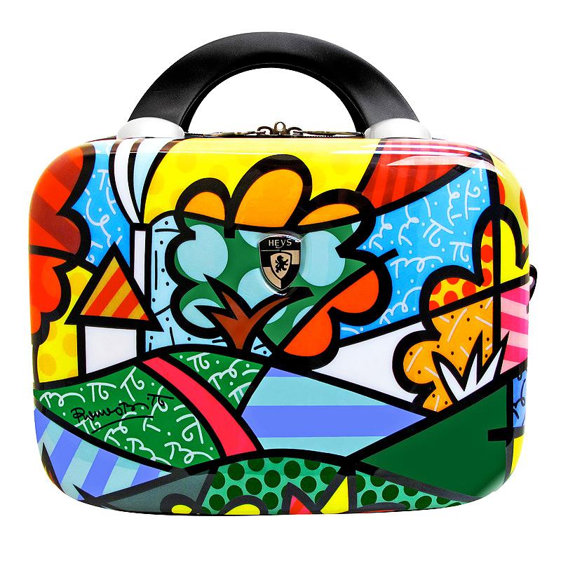 "Heys Бьюти-кейс коллекция  ""Britto Flowers/Landscape "", пластик, объем 9..."