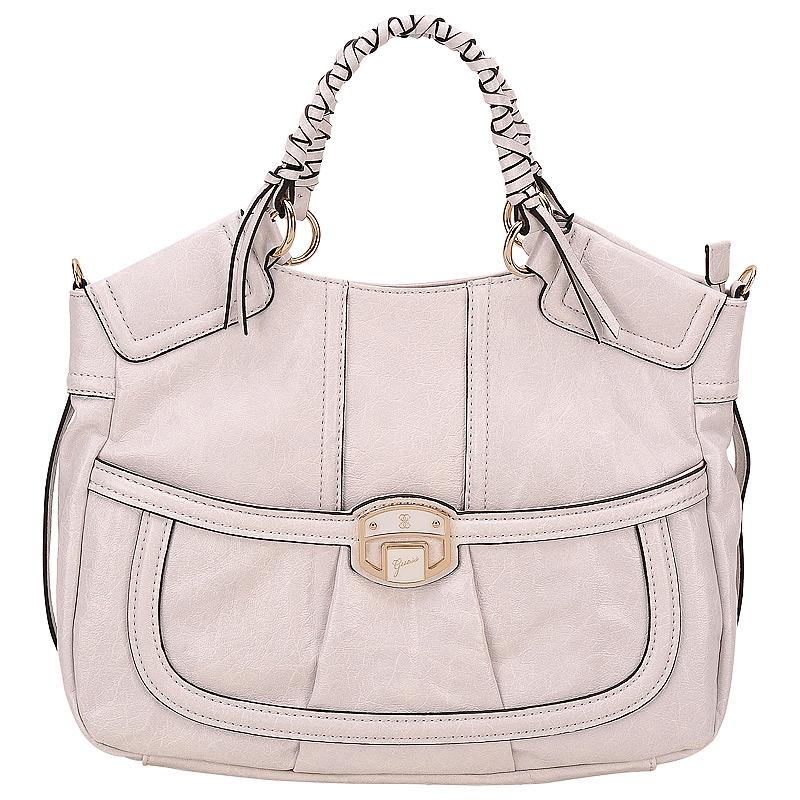 Женская сумка, светло - серая, Guess, США.  Пан Чемодан - интернет...