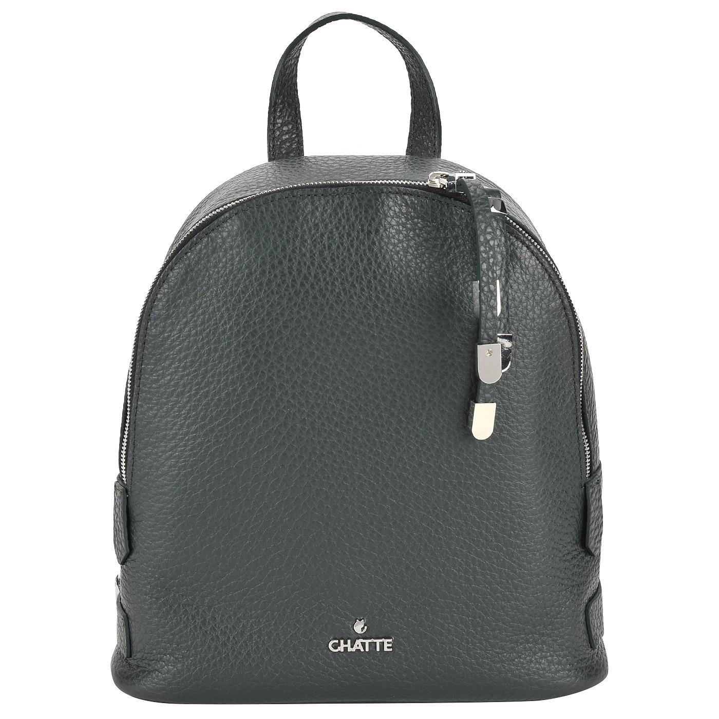 b77047e993f2 Женский кожаный рюкзак Chatte DB9214_verde - 2000557779952 зеленый ...