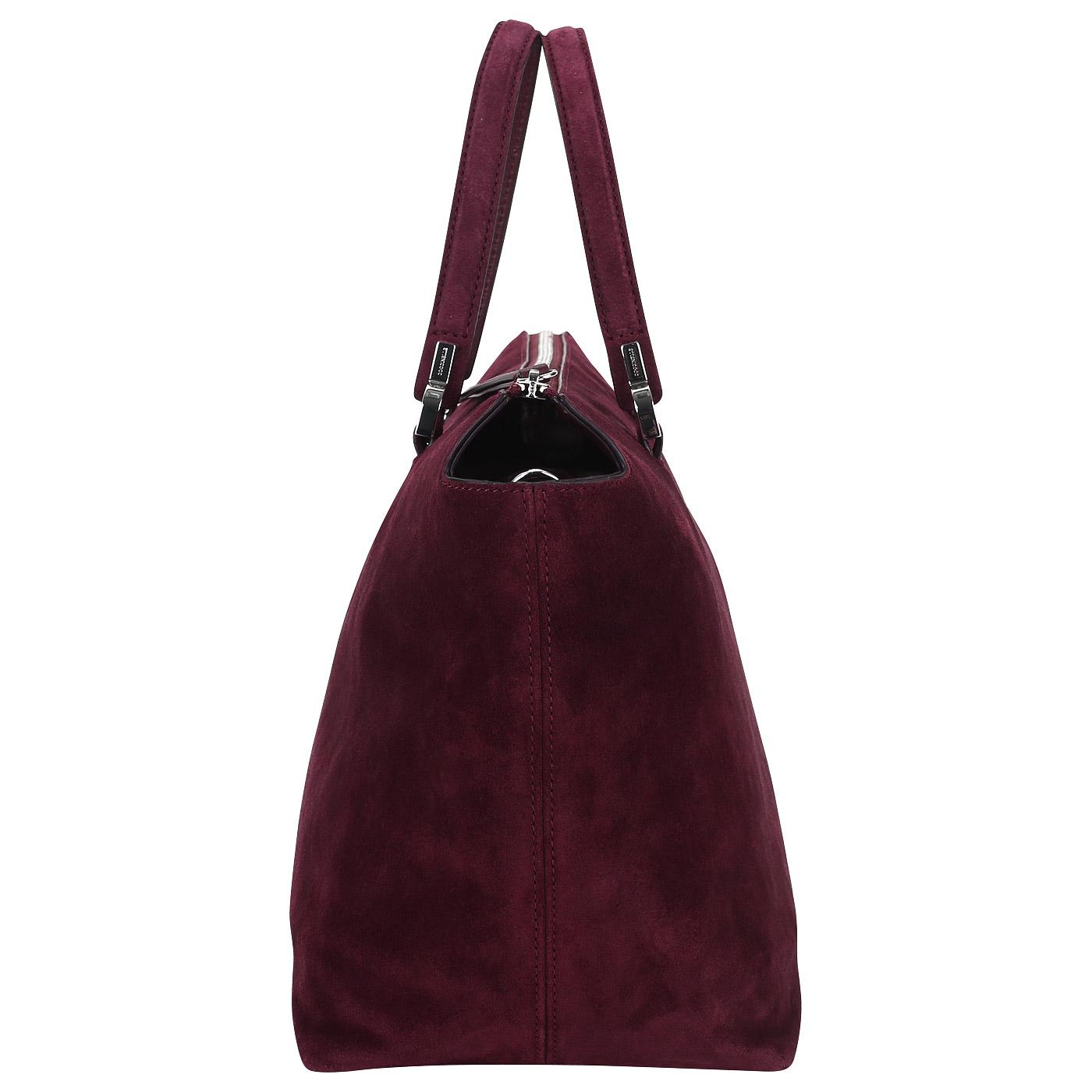2b0747a2a819 Вместительная сумка из замши Coccinelle Keyla suede CI1 18 01 ...