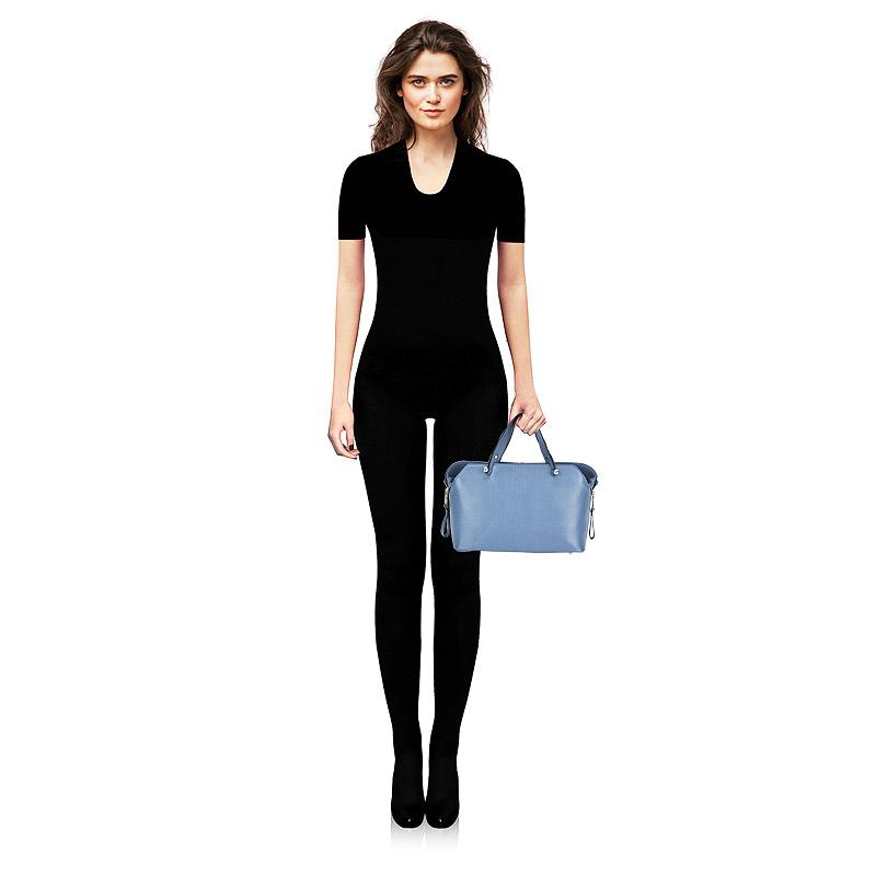Женская кожаная сумка с плечевым ремешком Chatte