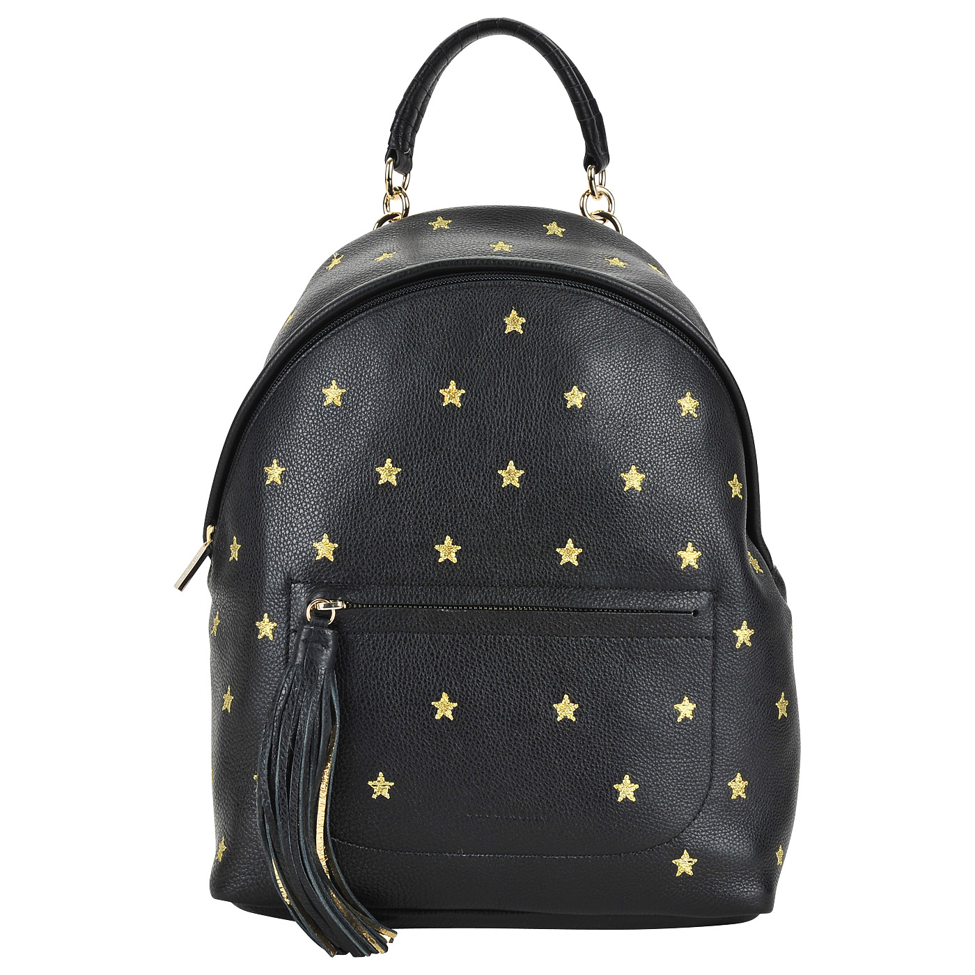 b0d18e2378d7 ... Женский кожаный рюкзак с вышивкой Coccinelle Leonie embroidery ...