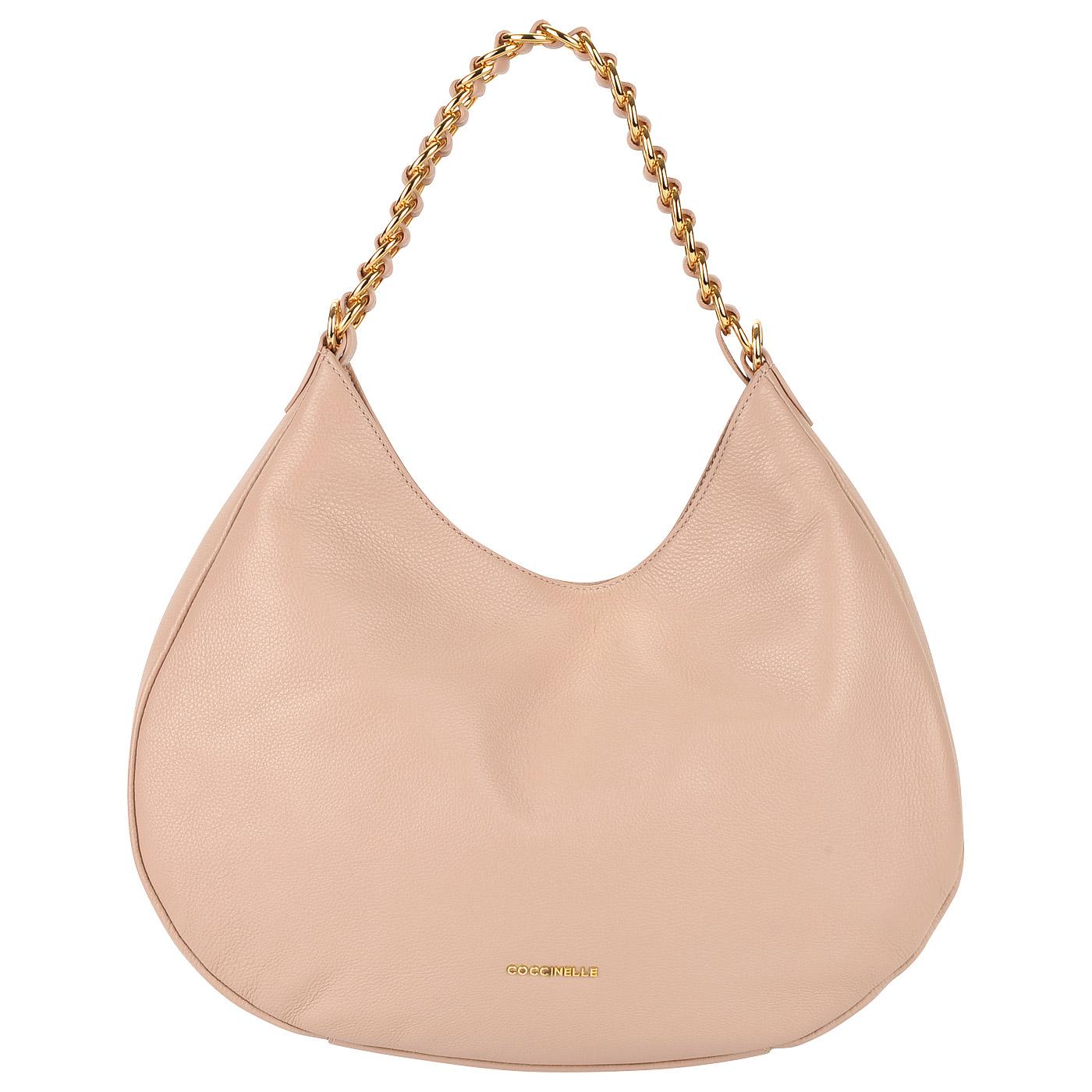 fbad98370f3a ... Вместительная женская сумка из натуральной кожи Coccinelle Julie ...