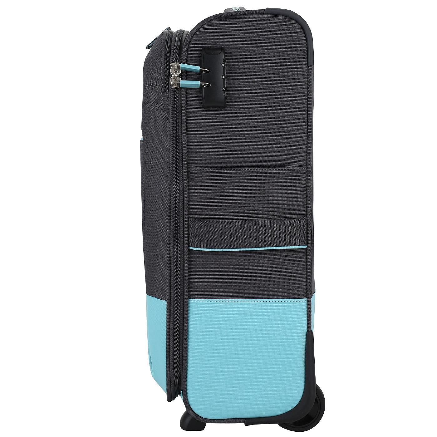 ... Чемодан для ручной клади тканевый с кодовым замком American Tourister  Instago ... 81b7ef73538