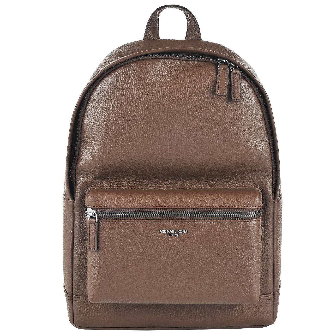 Коричневый кожаный рюкзак где купить рюкзак шанель подделку в воронеже