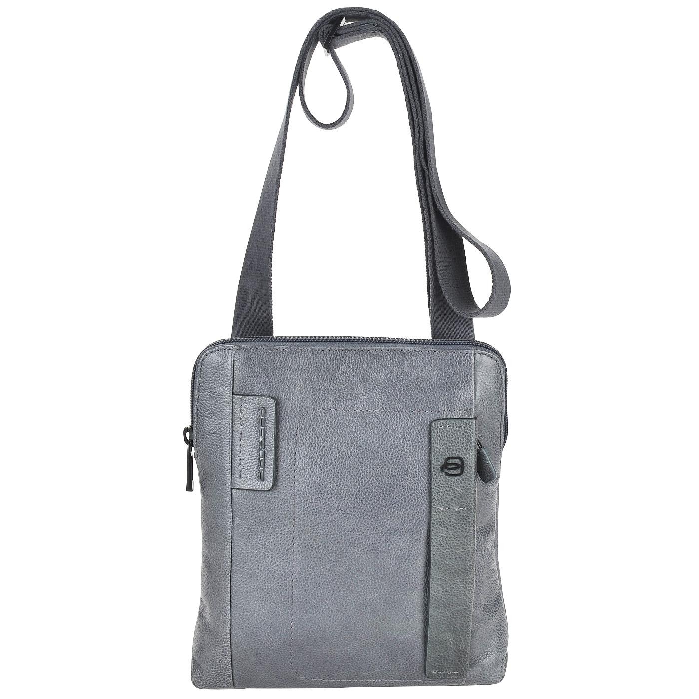 ec6d16775229 Мужская сумка через плечо Piquadro Plus CA1358P15S/GR ...