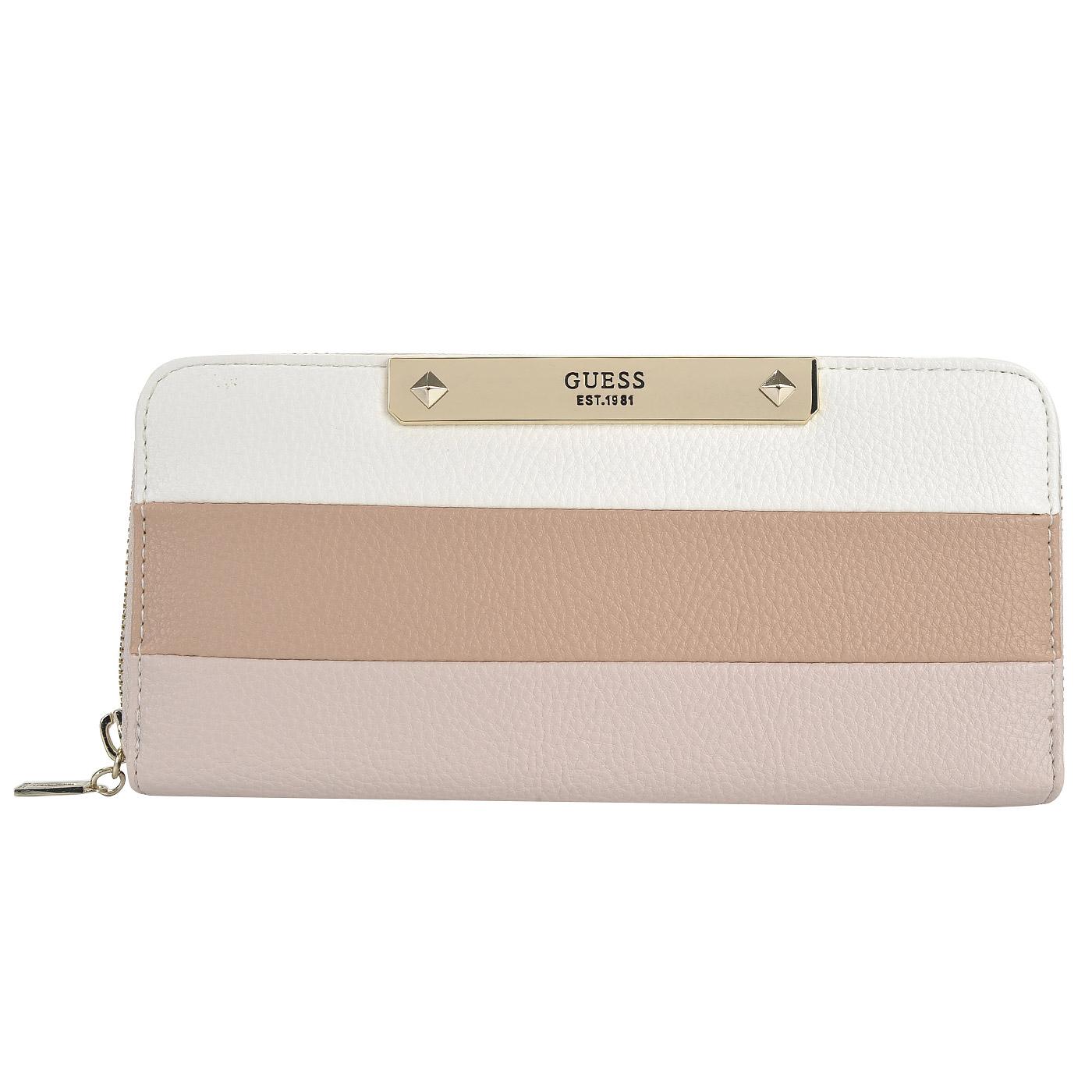 d071cd358d41 Женское портмоне с ремешком на запястье Guess Luma SWVG68 ...