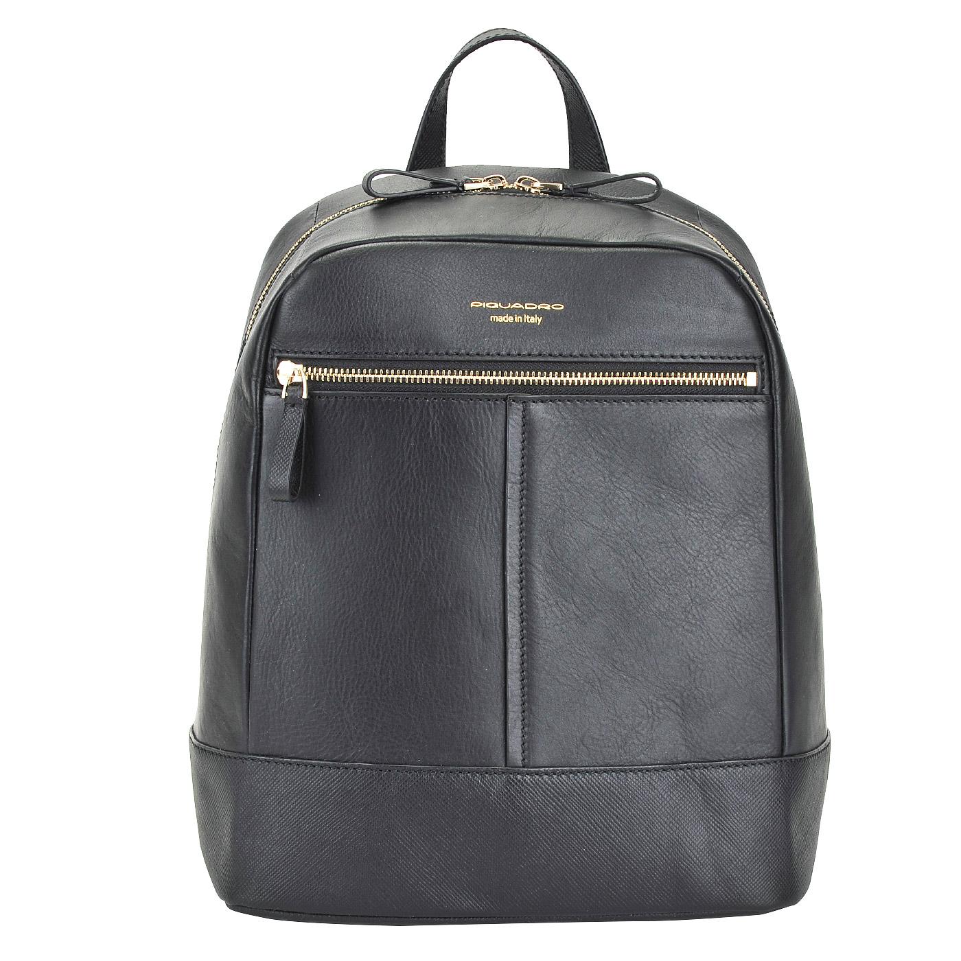 Кожаный рюкзак пиквадро школьный рюкзак 1 класс отзывы