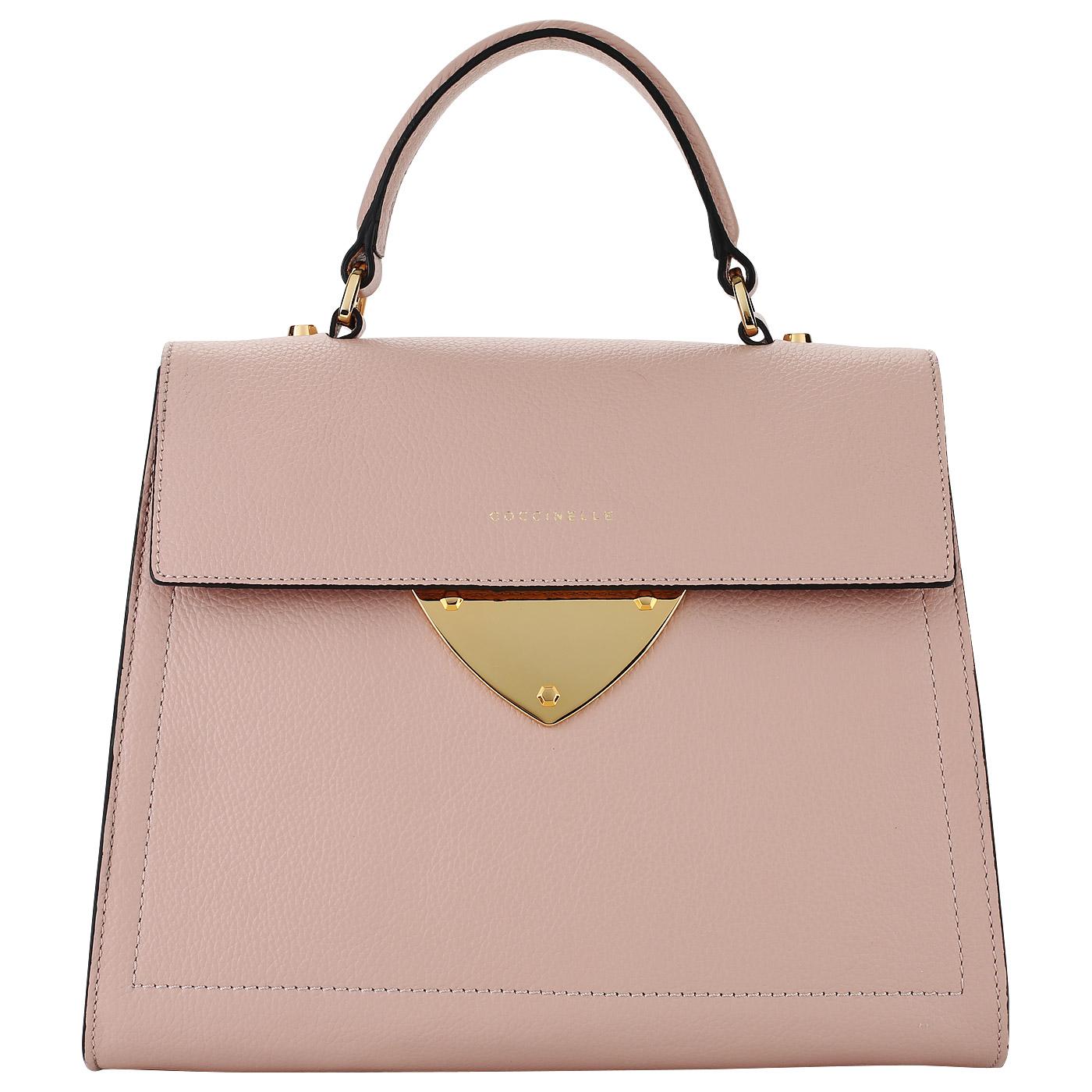 132b1283ace2 ... Женская классическая сумка из кожи Coccinelle B14 Lunar new year ...