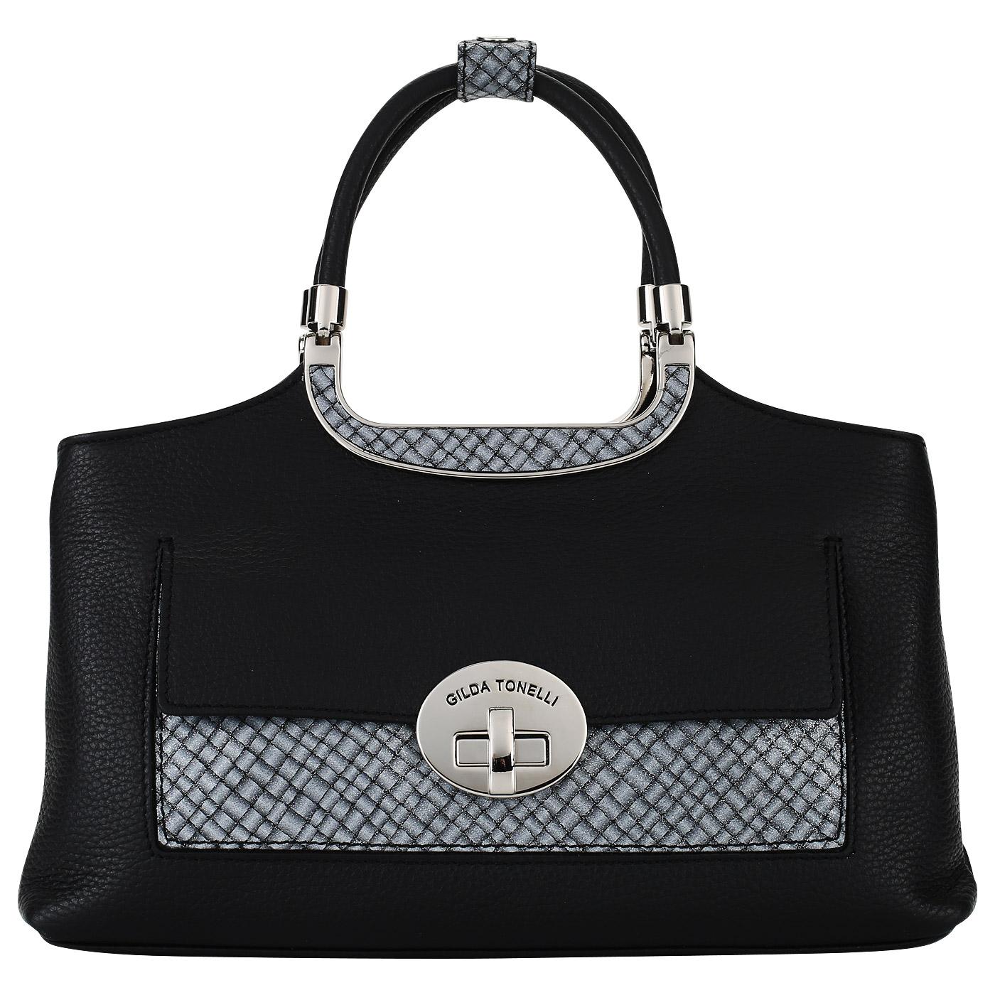 ceac985f2ffc Женская сумка с двумя отделами Gilda Tonelli Adria 3302 5233_nero ...