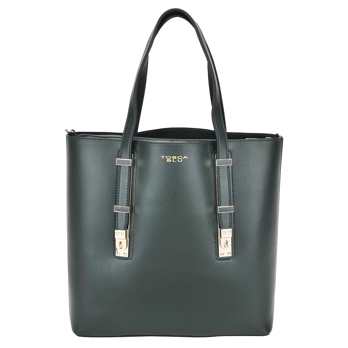 Женская сумка Tosca Blu Golden Tea 1625B11 green - 2000557607699 ... 48022131a74
