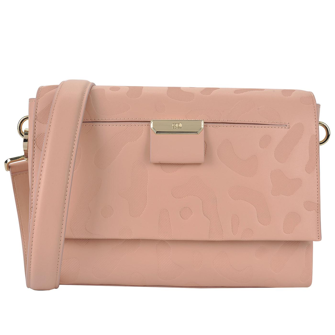 784547d26703 Женская кожаная сумка с двумя ремешками Cavalli Class Sofia ...