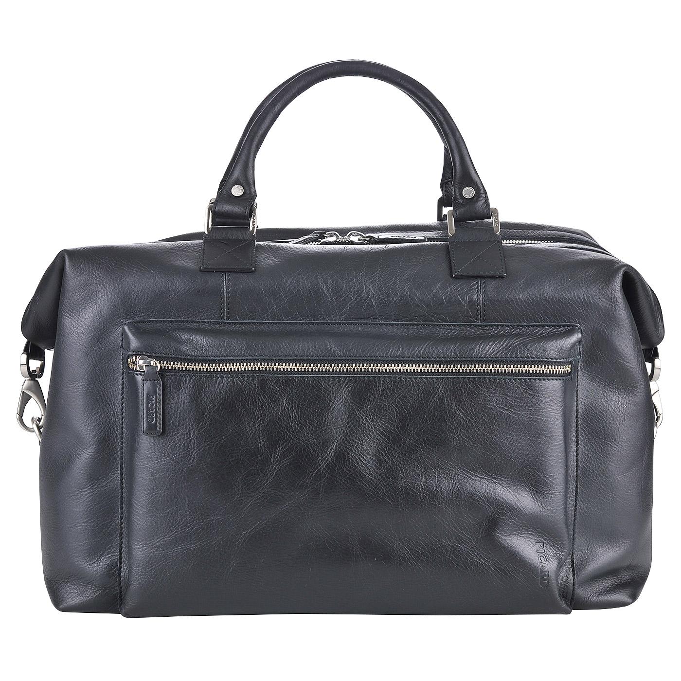 dc1c5ad392b7 Мужская кожаная сумка дорожная Picard Buddy 4235 51B_schwarz ...