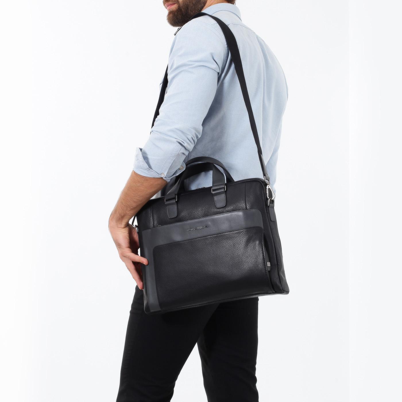 477c908d8c36 Деловая сумка на двойной молнии Piquadro Feels CA4098S97/N ...