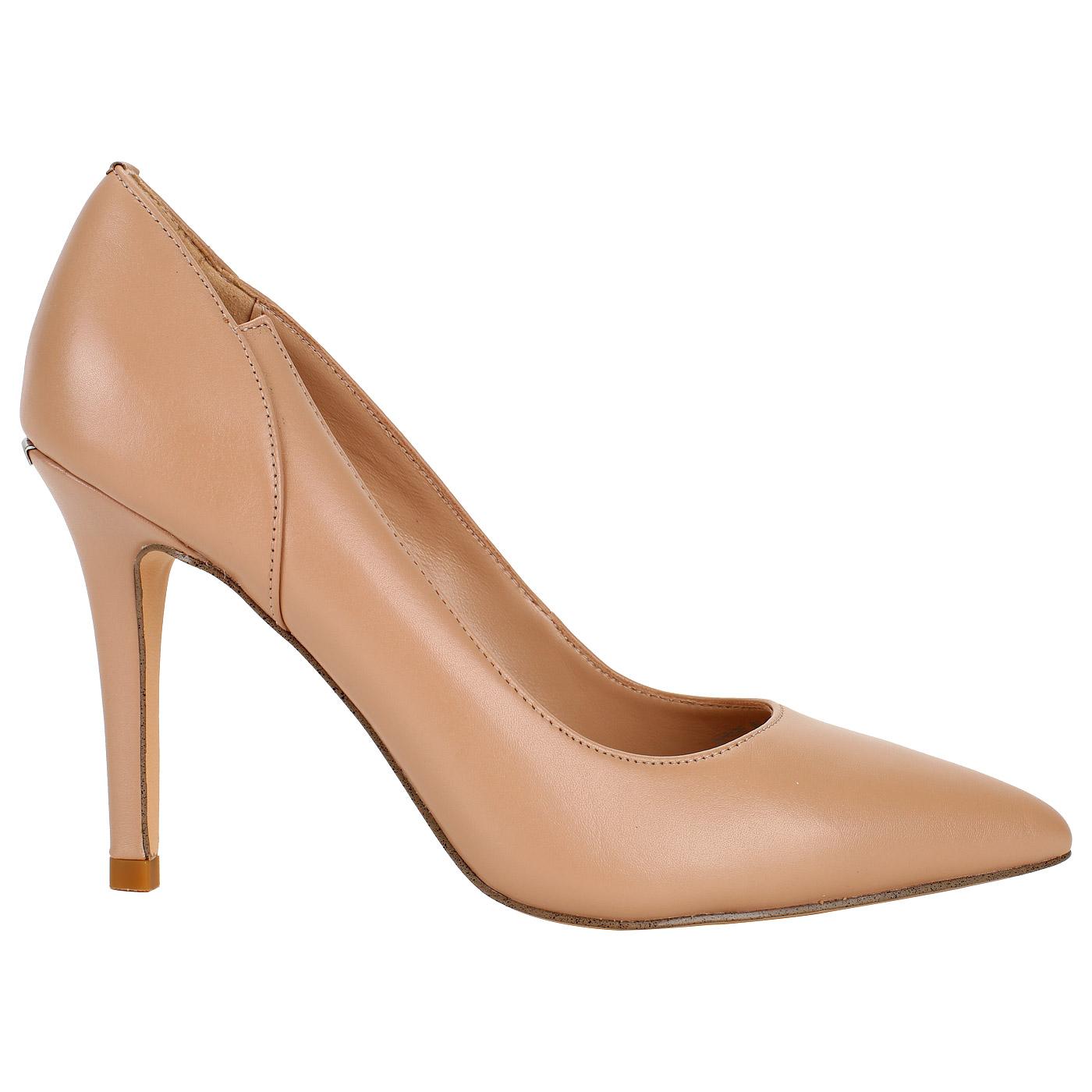 Женские туфли-лодочки из кожи Liu Jo Airone S18001P0055 nude 38-i ... fa92801f2e6