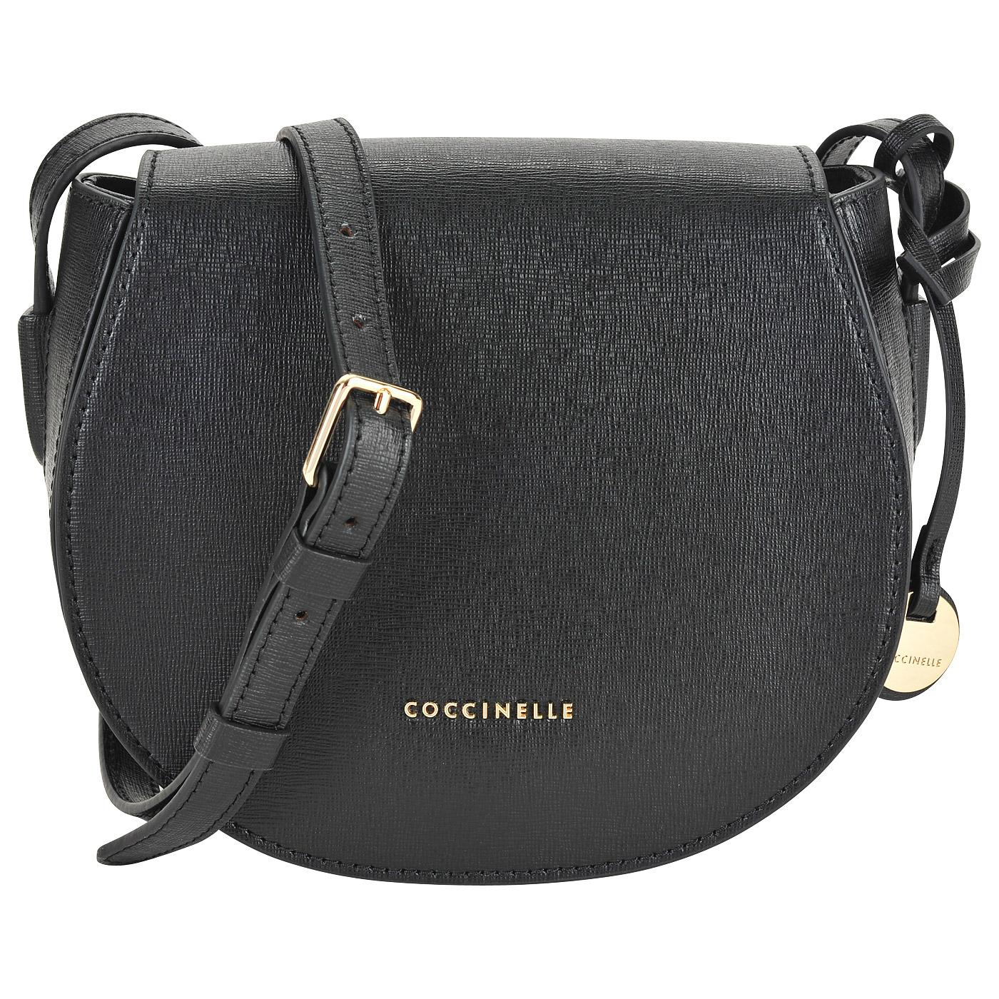 05dce880425a Маленькая сумка из сафьяновой кожи Coccinelle Clementine AF5 15 02 ...