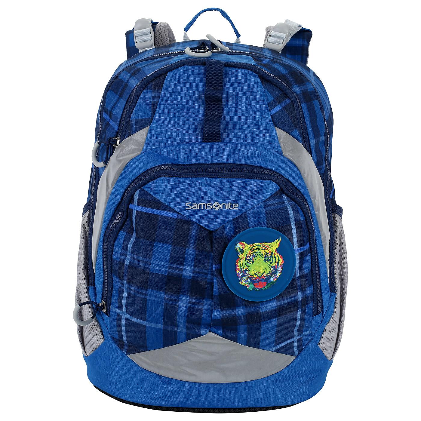 96d47c937432 Синий рюкзак на молнии Samsonite Sam Ergofit