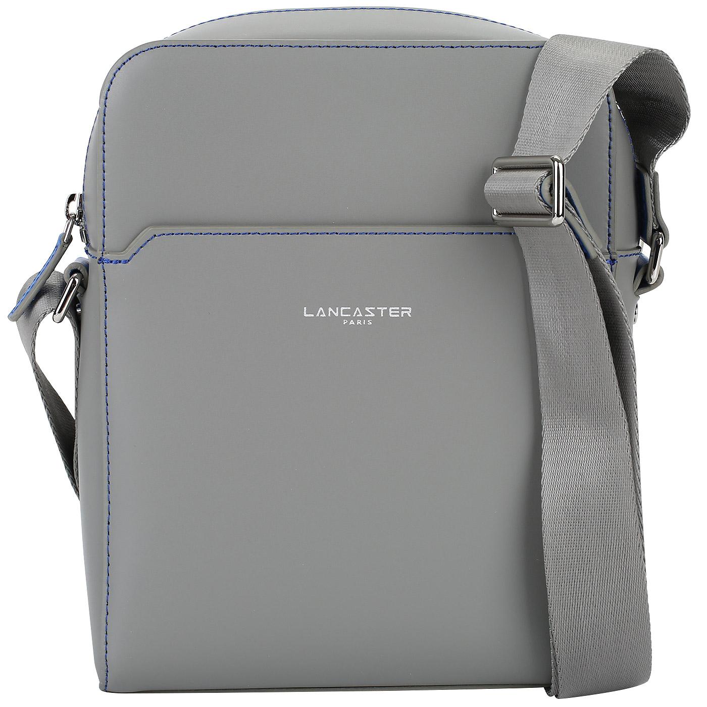 eff340b72621 Серая мужская сумка-планшет Lancaster Smoosh Homme 328-16_gris in ...