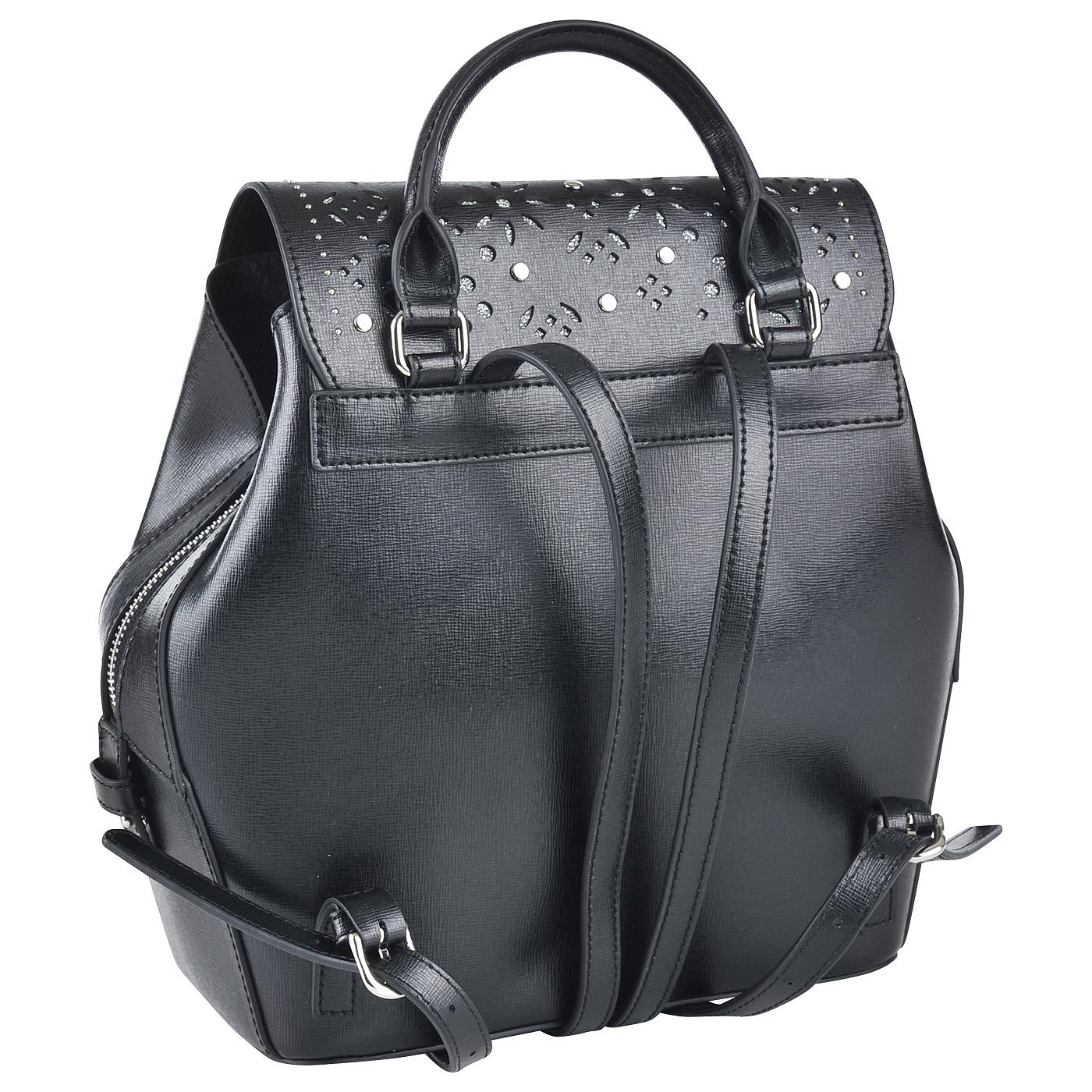b54ead929a43 Женский кожаный рюкзак Cromia Lola 1403231_nero - 2000557669611 ...