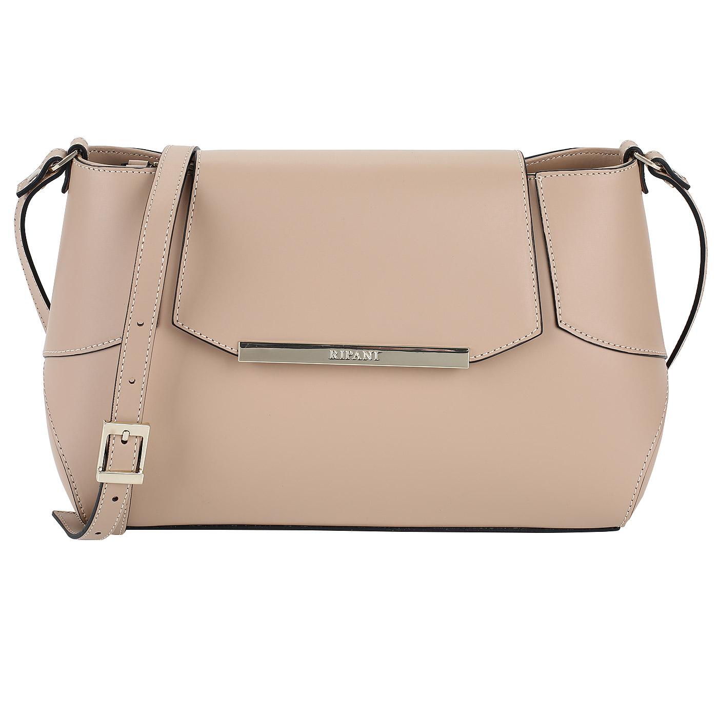 000d6da91f5b Женская бежевая сумка из кожи Ripani Candy 8444HH.00006 ...