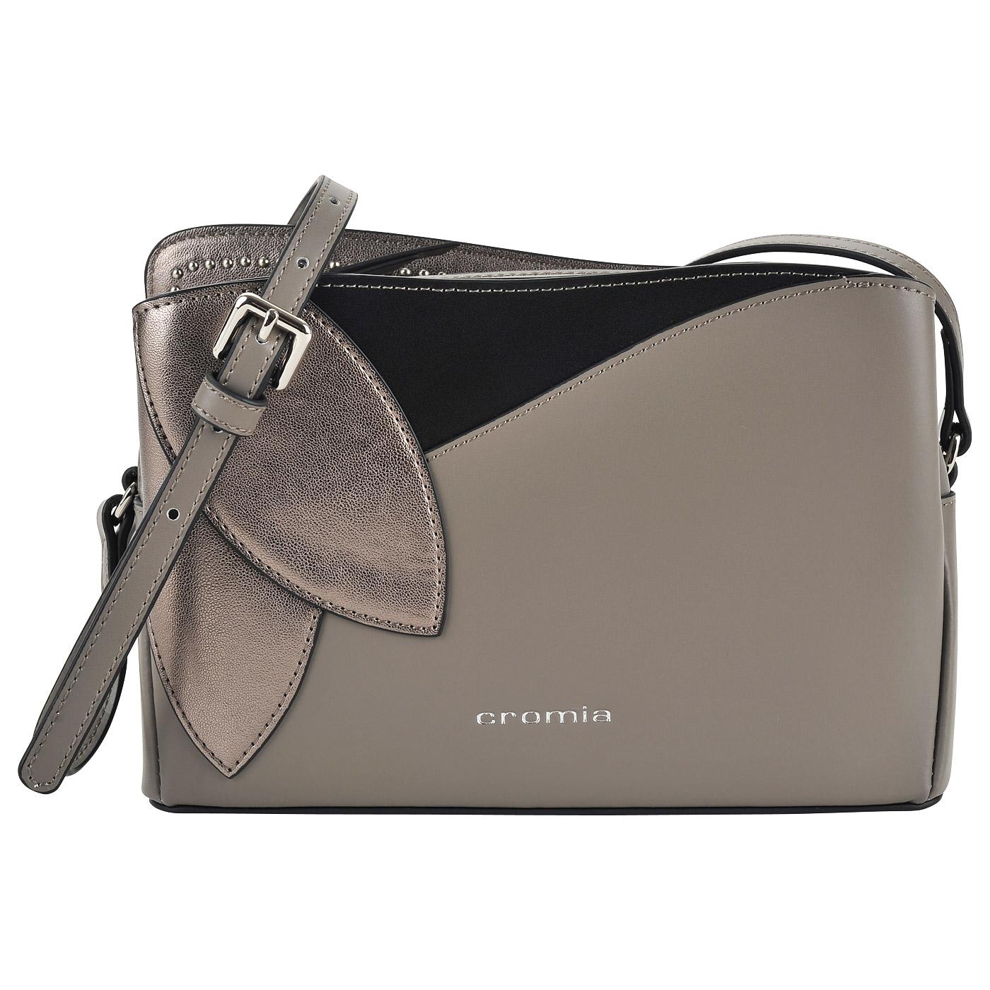 dbd74373a259 Маленькая кожаная сумка через плечо Cromia Rose 1403451_terra ...