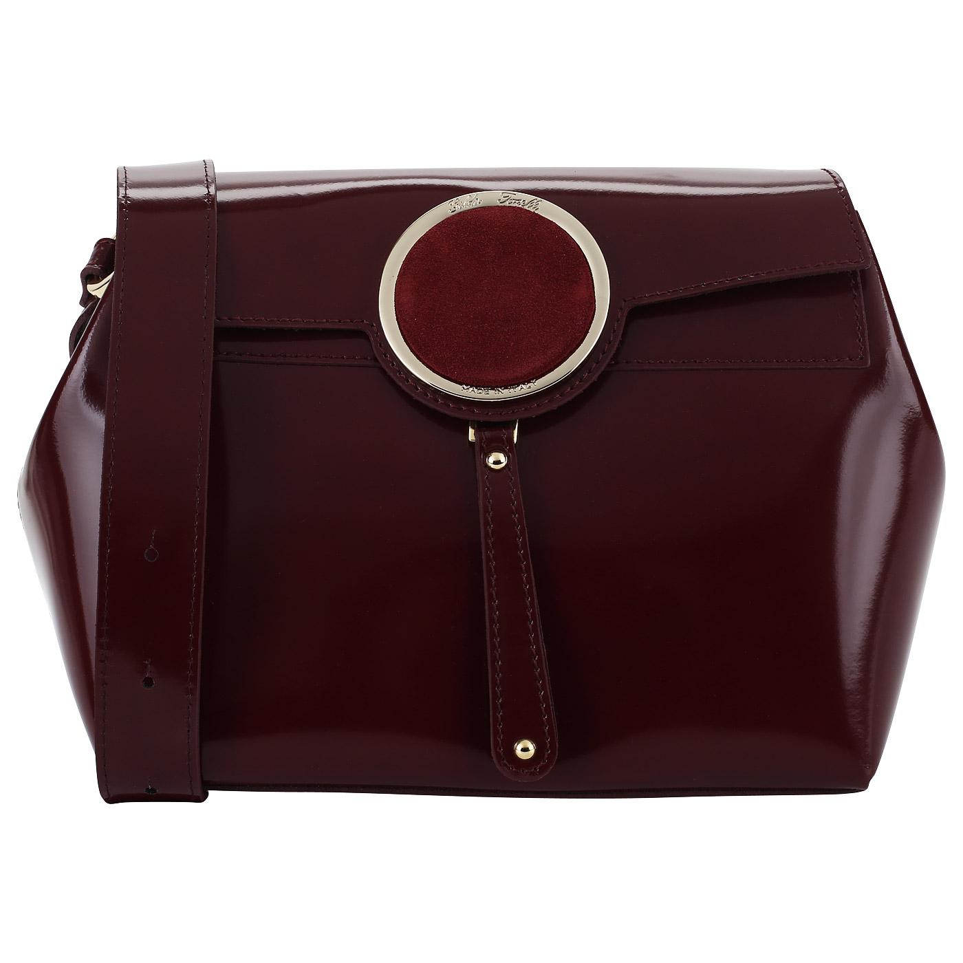 bda9308cc17a Бордовая сумка Gilda Tonelli Pad Eco Бордовая сумка Gilda Tonelli Pad Eco  ...