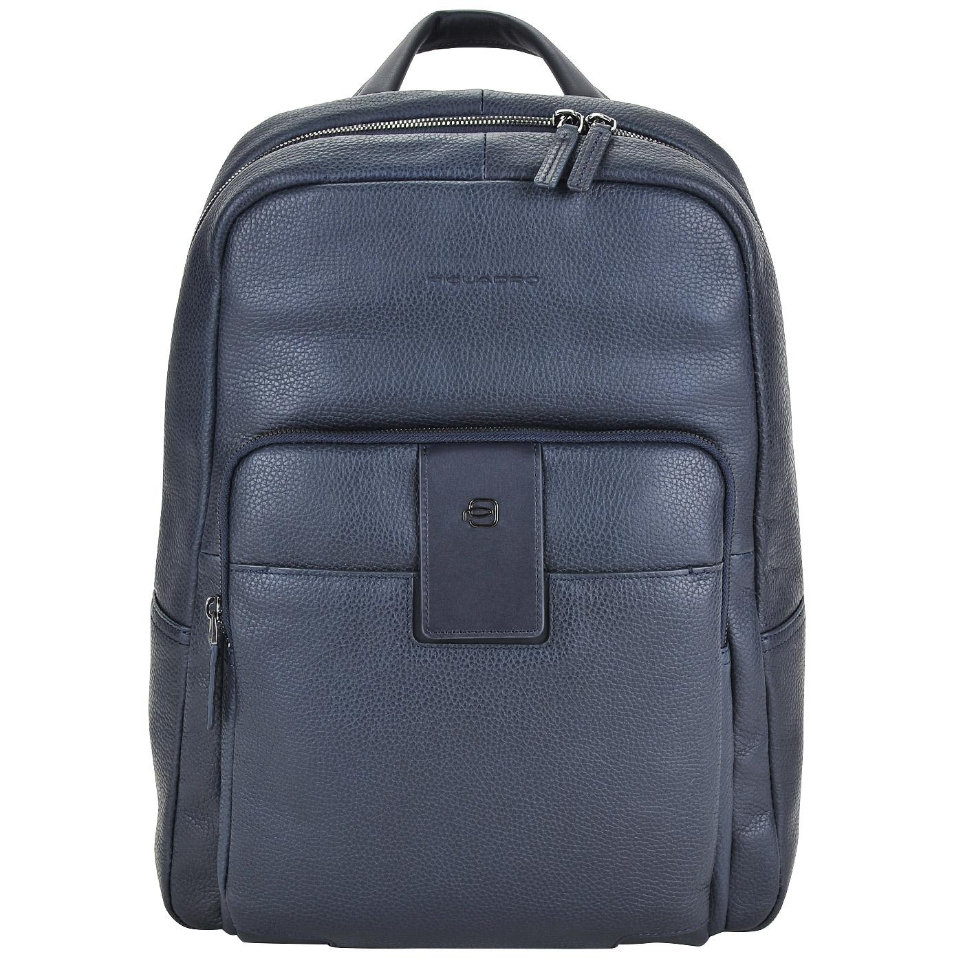 817a9c363454 Мужской кожаный рюкзак с отделением для ноутбука Piquadro Ili ...