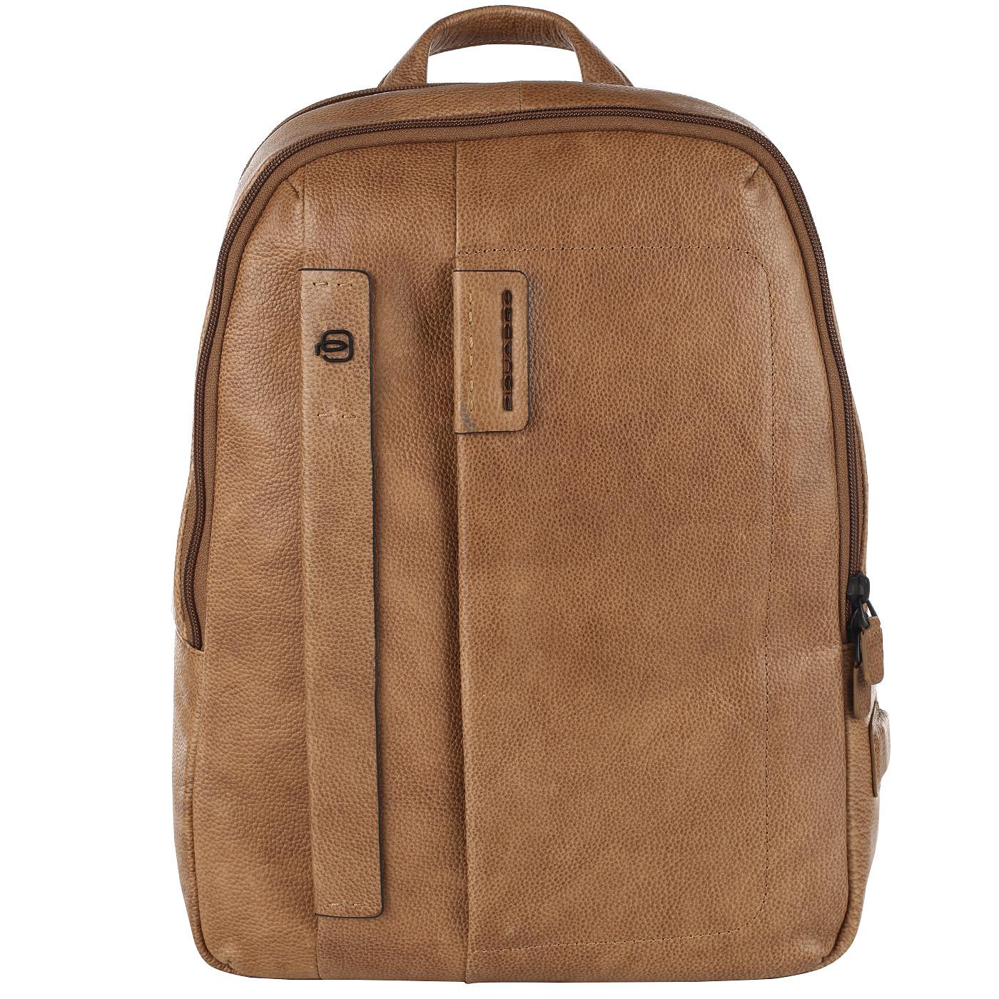 7afc2c2f3e6e Кожаный рюкзак с отделением для ноутбука Piquadro Plus CA3869P15S/CU ...