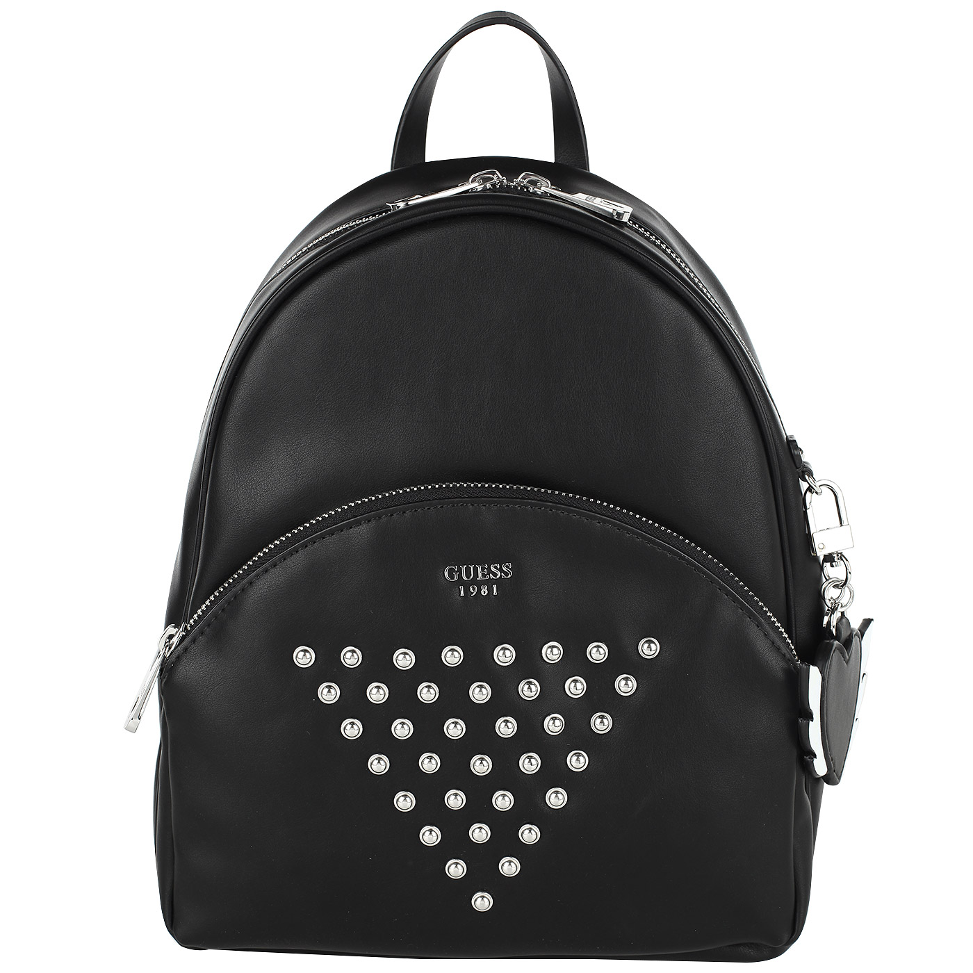 Вместительный женский рюкзак черного цвета Guess Bradyn HWVY66 ... 369afd43c12