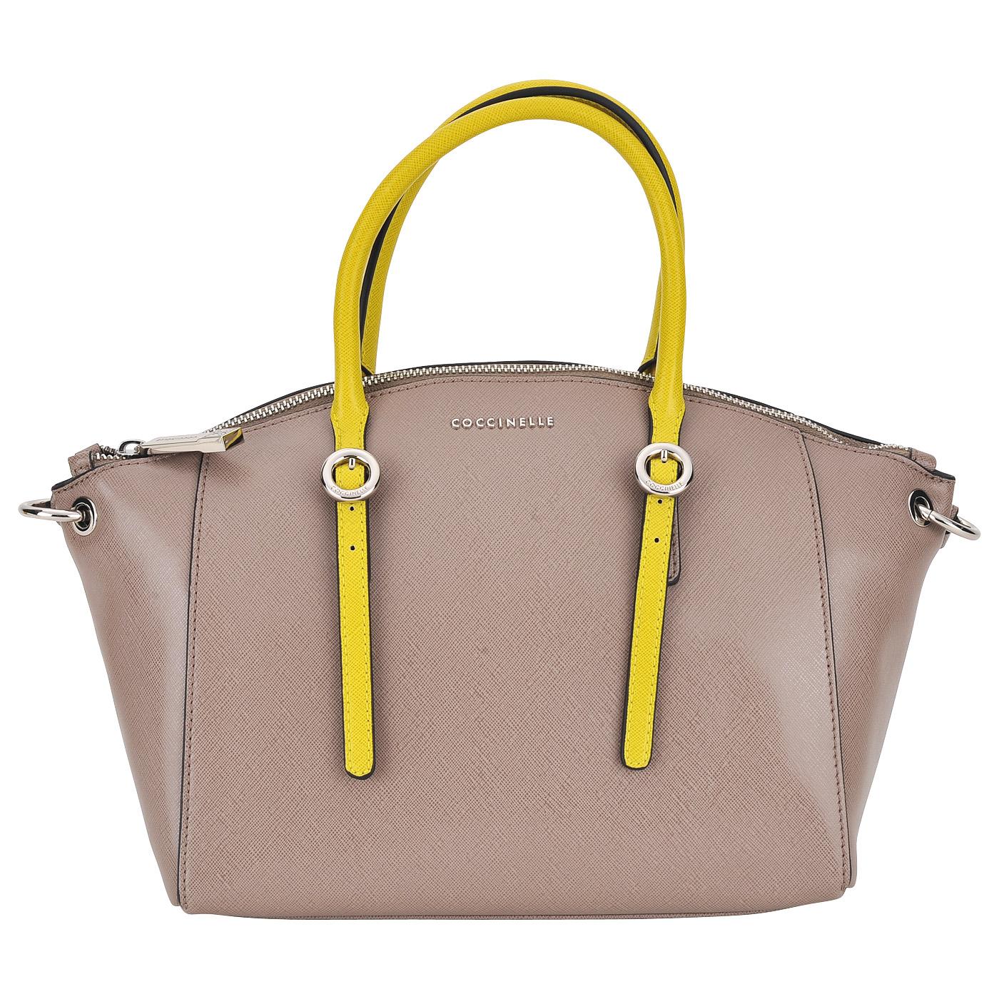 СумкаКлассические сумки<br>Съемный регулируемый плечевой ремешок.  Закрывается на молнию. Внутри одно отделение, в котором карман на молнии и два кармашка для мелочей.<br><br>count_sale: 0<br>new: 0<br>sale: 0