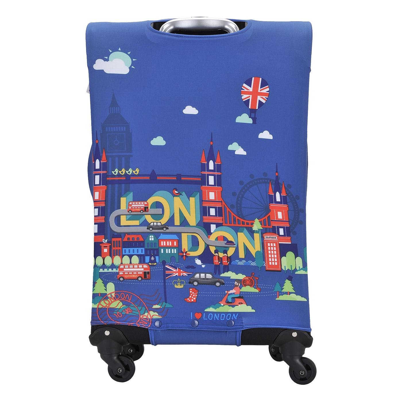 Чехол для чемодана от Пан Чемодан