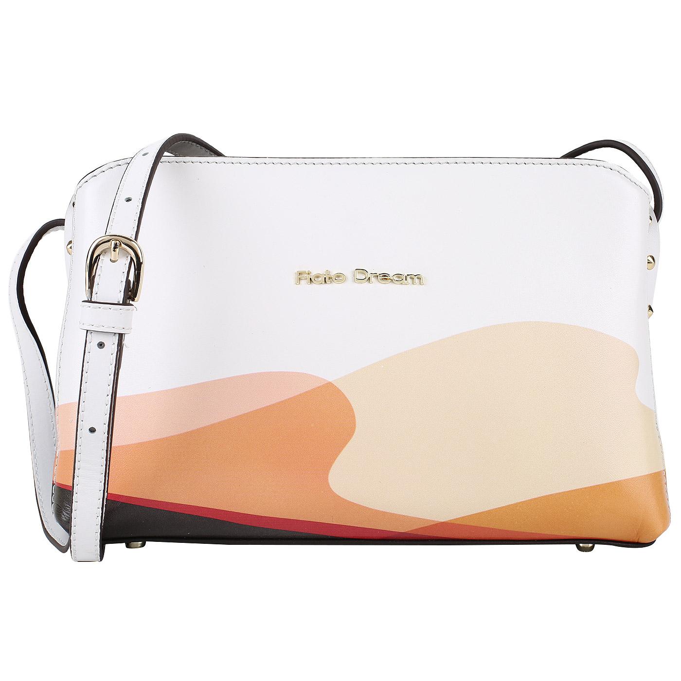 5d2493c30d99 Женская кожаная сумка с принтом Fiato Dream 1028 FD - 2000557886063 ...