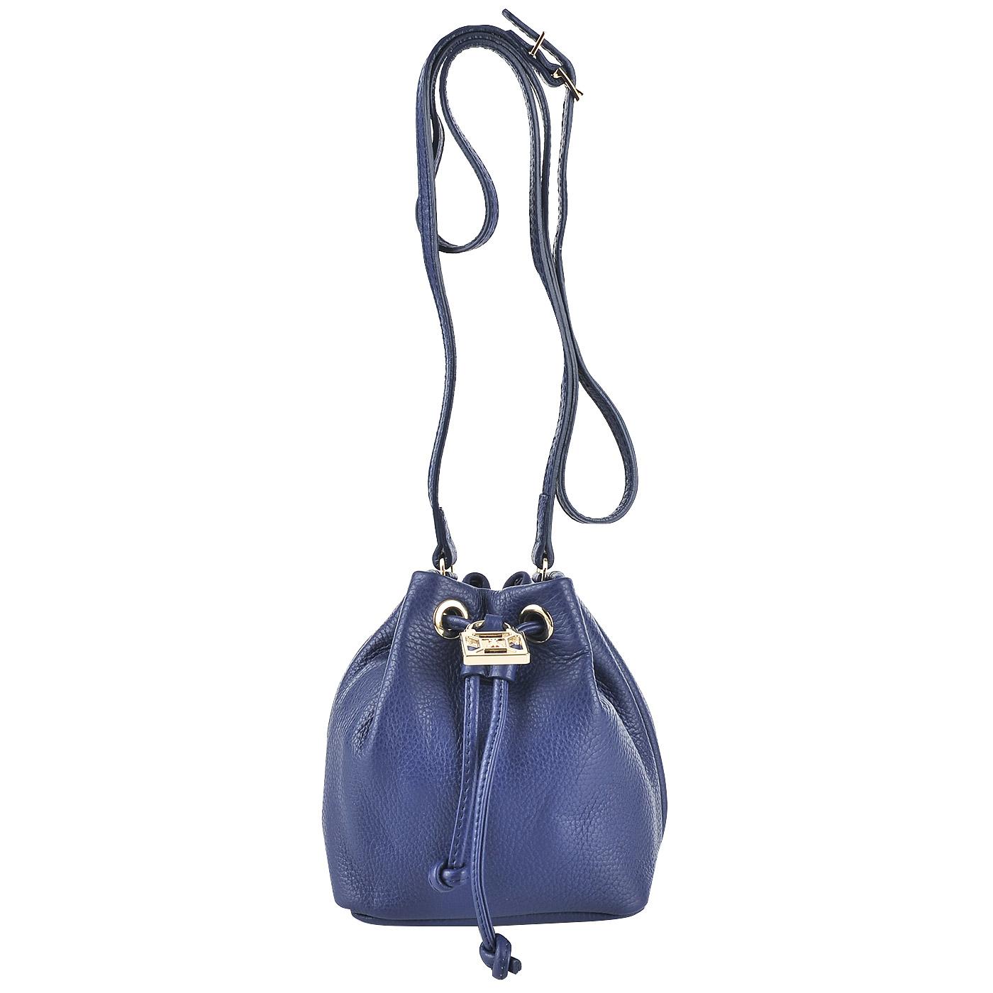 8f1fdadf3533 ... Маленькая сумка-торба из натуральной кожи Patrizia Pepe Easy Lock ...