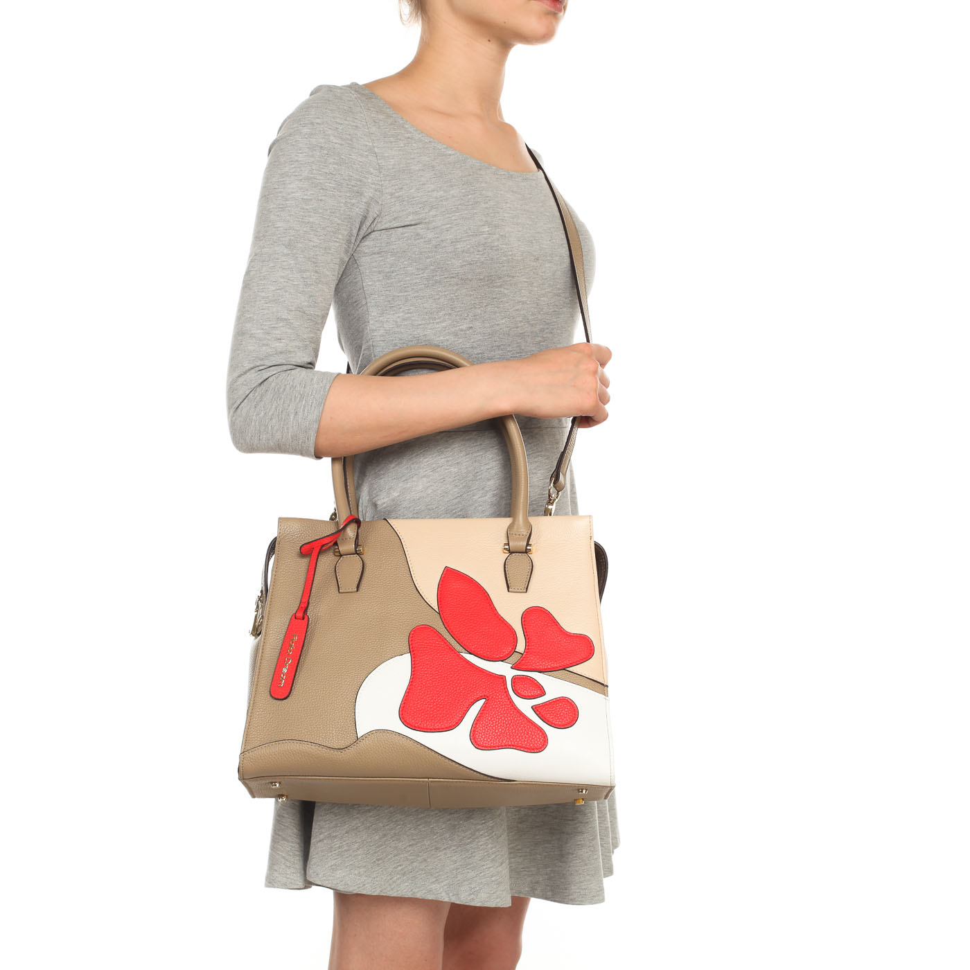 1e6c116918fa Кожаная сумка с принтом Fiato Dream 3060 FD - 2000557739581 ...
