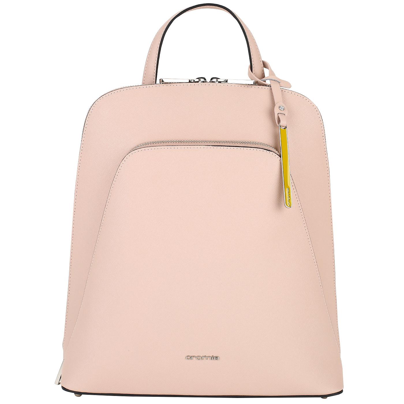 860efc49d440 Женский рюкзак из сафьяна Cromia Perla 1403603_rosa - 2000557793996 ...