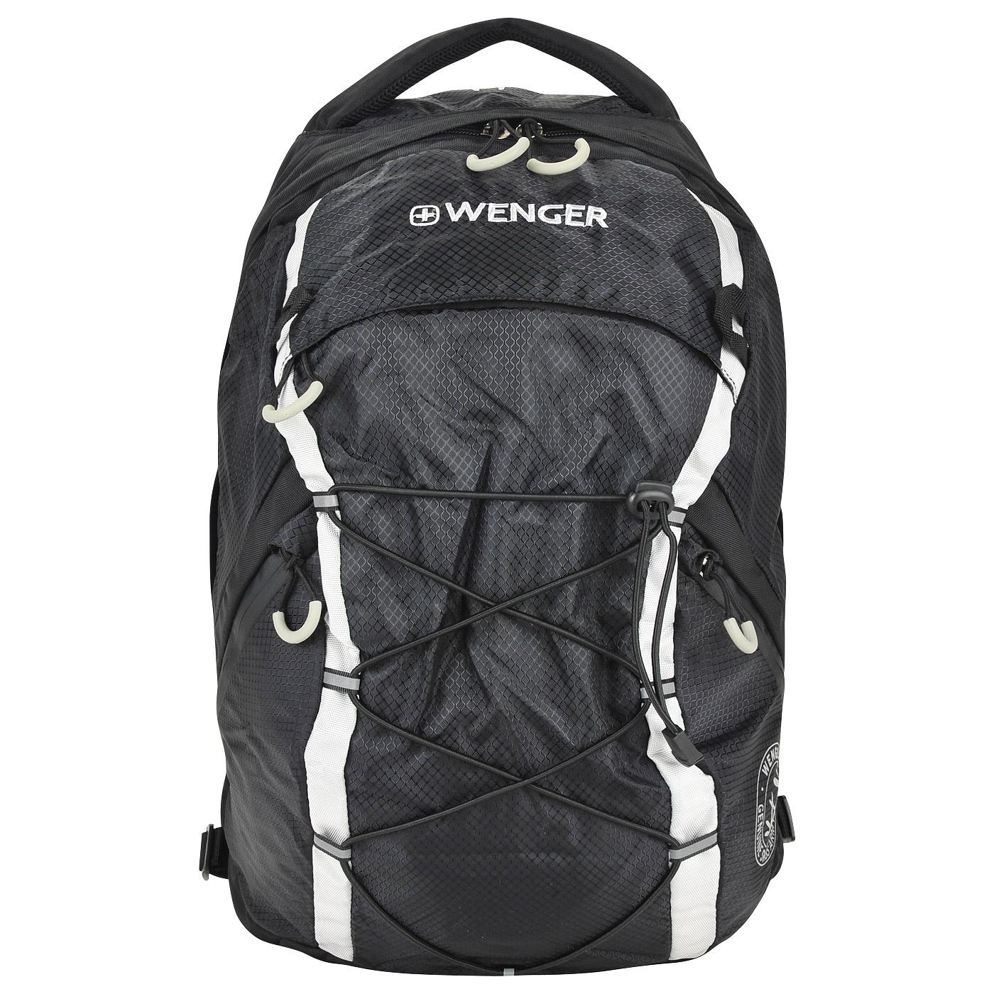 Тканевый рюкзак Wenger 30532499 - 2000557756656 черный полиэстер 29 ... 1bb646a5c6a
