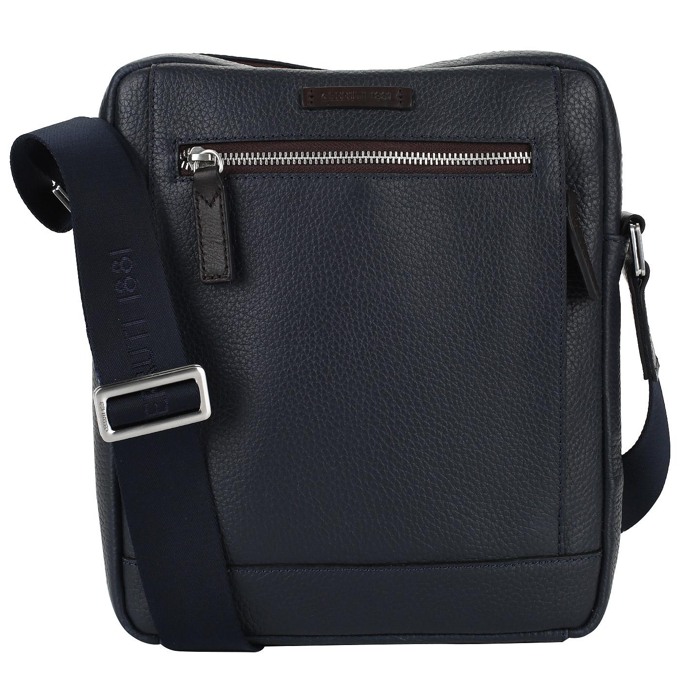 6efd80fe46a7 Мужская сумка-планшет из кожи Cerruti 1881 Monaco CEBO02632M_blue ...