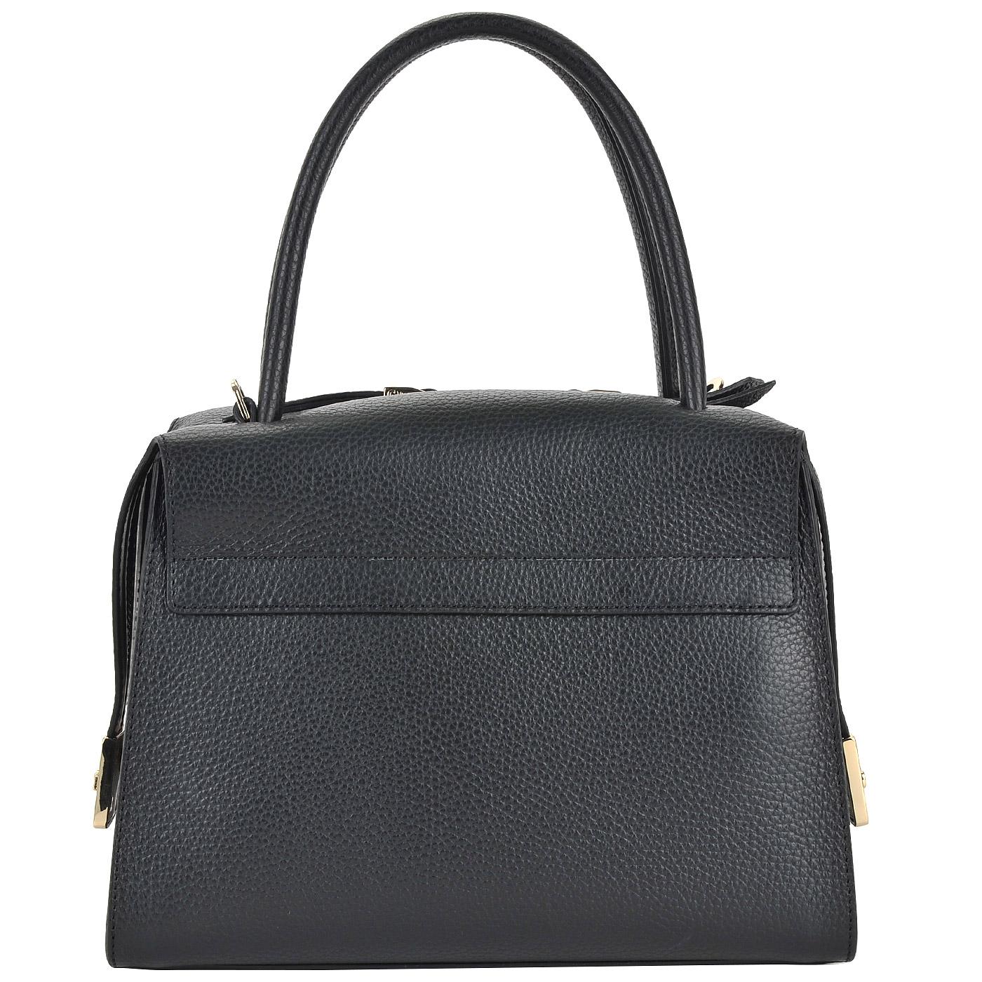9b9974703670 Женская черная сумка из натуральной кожи Gironacci Женская черная сумка из натуральной  кожи Gironacci ...