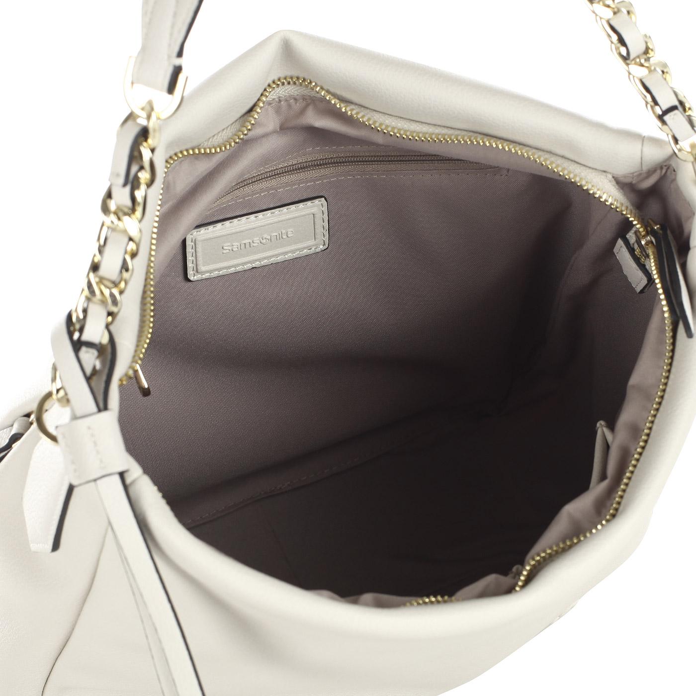583fcdb4d57f Женская мягкая сумка Samsonite Satiny CA192008 - 2000557887244 серый ...