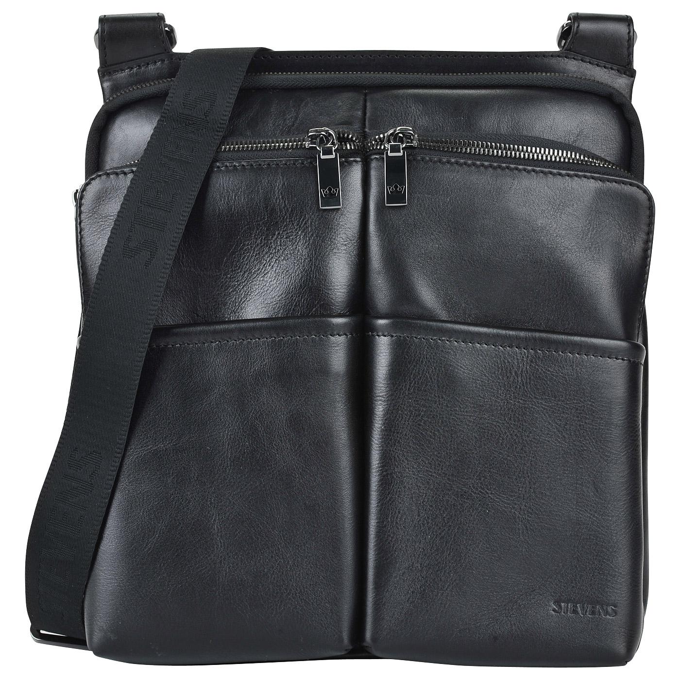 0b897c1b7d47 Мужская сумка через плечо из натуральной кожи Stevens STE-11026SF/CF ...
