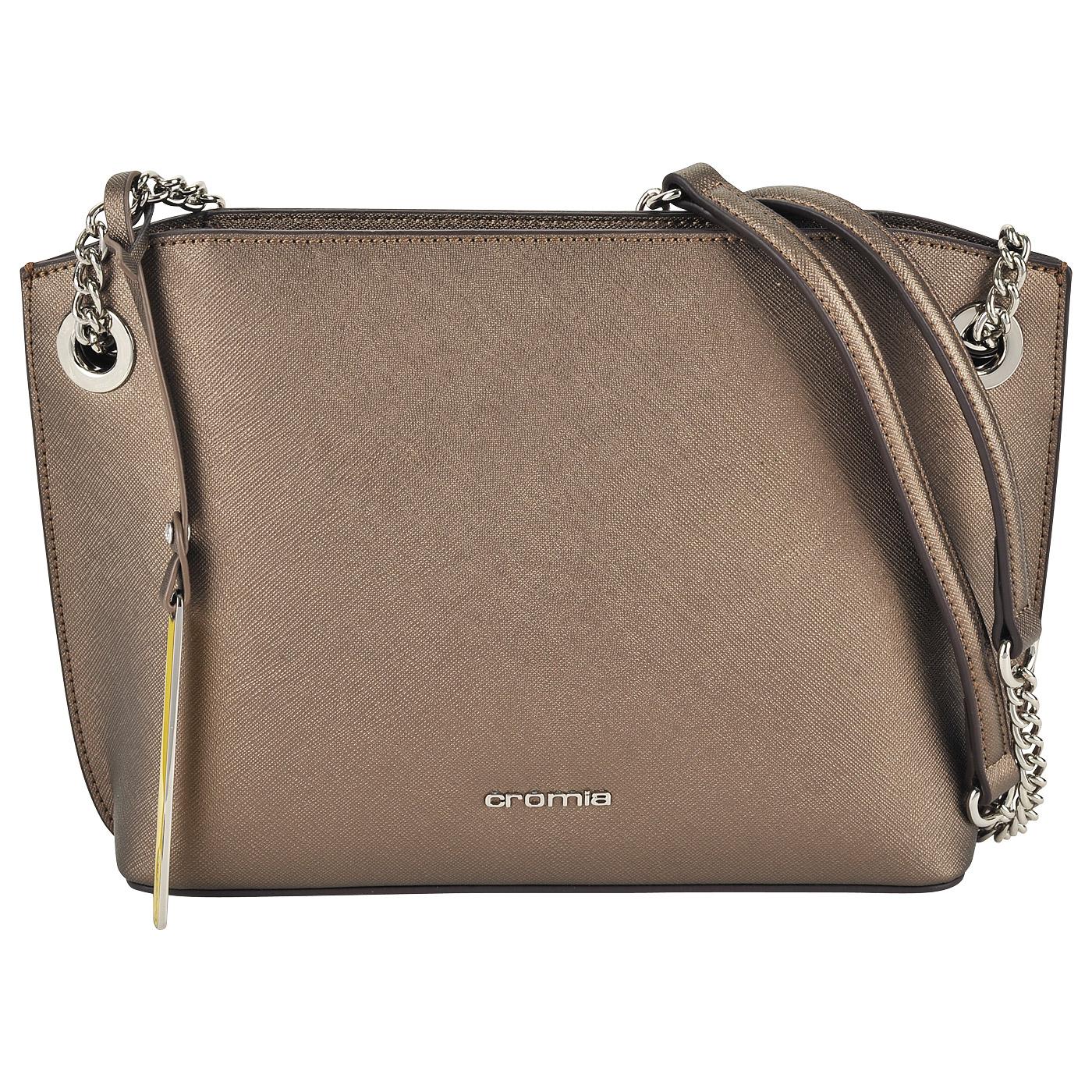 7c1085593ca8 Женская сумка кросс-боди из натуральной сафьяновой кожи Cromia Perla ...