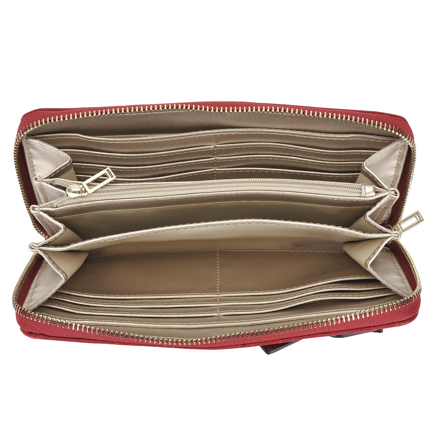 8968139a271d Женское портмоне с ремешком на запястье Guess Sibyl SWVG68 ...