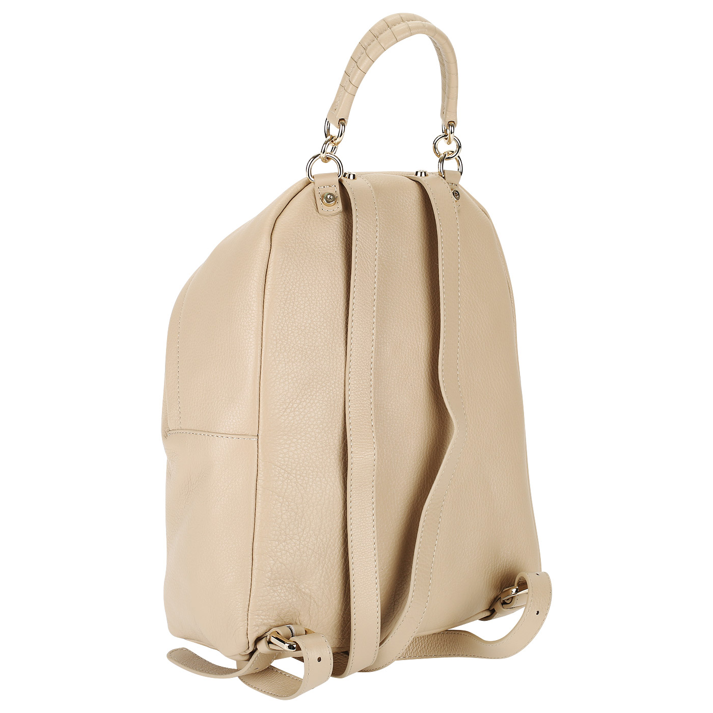 747da61f32ac Женский кожаный рюкзак с регулируемыми лямками Coccinelle Leonie BN0 ...