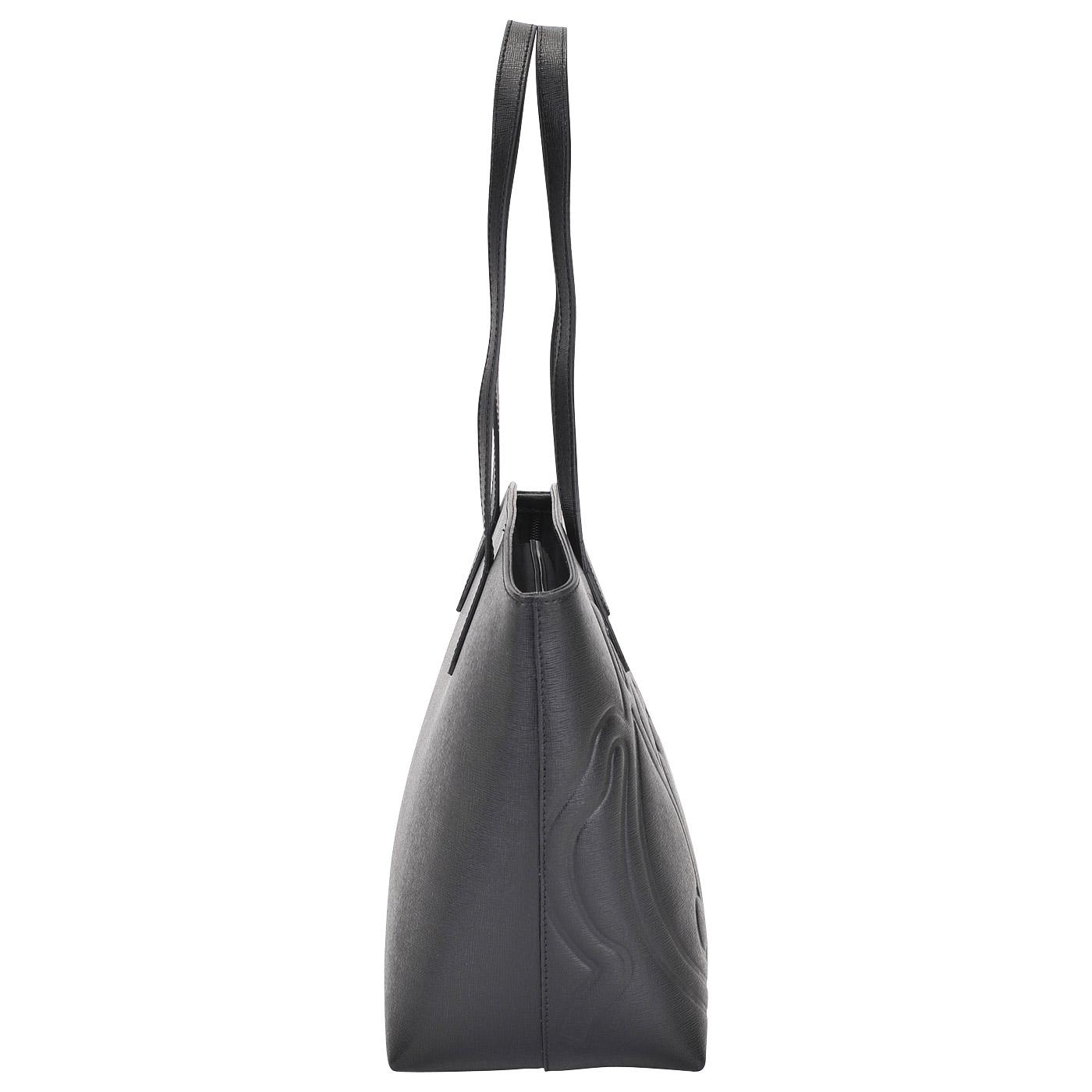 5a2475d745d9 Женская кожаная сумка Braccialini Ninfea B11191_nero - 2000557612648 ...