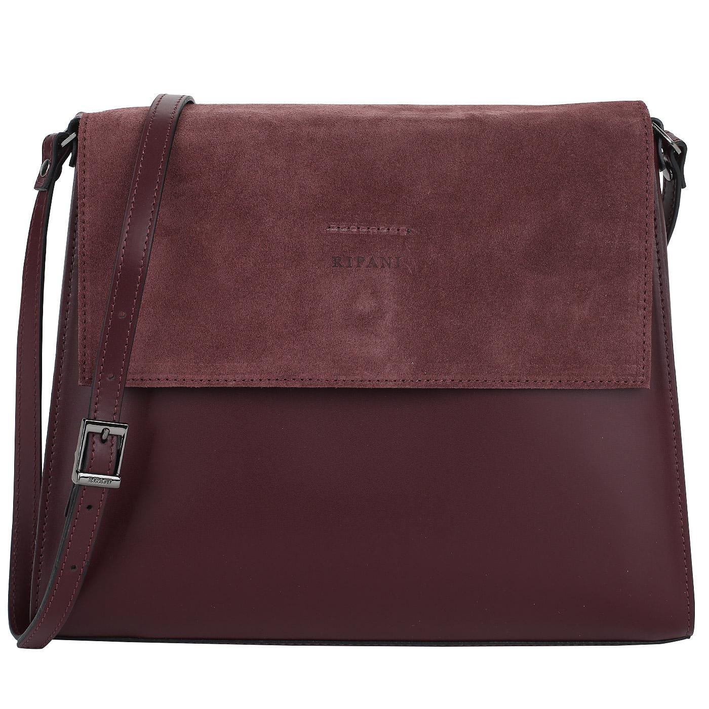 8dd95a27a85a Бордовая сумка через плечо Ripani Pachira Бордовая сумка через плечо Ripani  Pachira ...