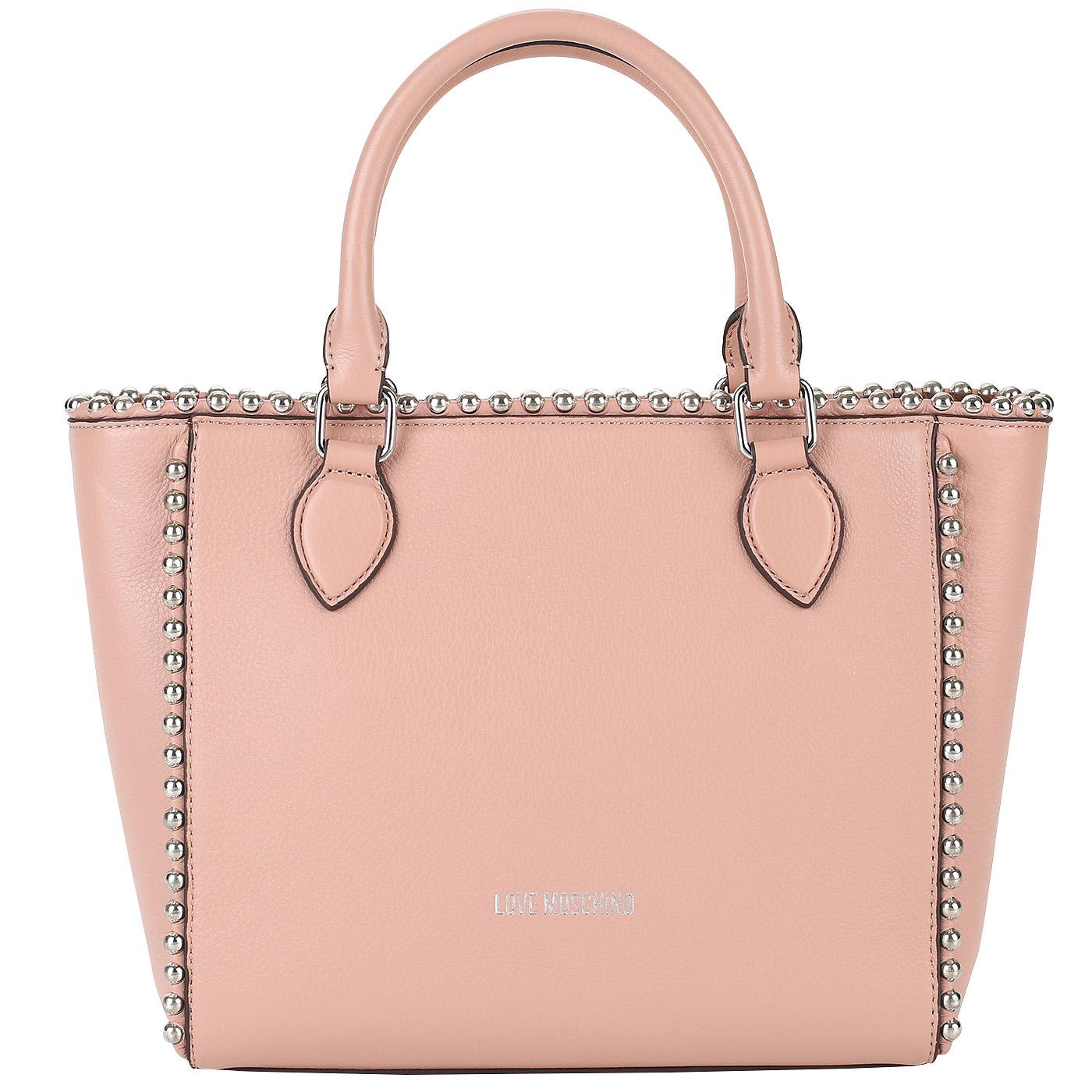05809c680c04 ... Женская сумка с плечевым ремешком Love Moschino Pallina ...