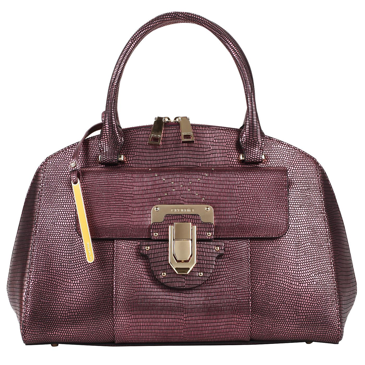 40c7694b5918 Классическая кожаная сумка Cromia Yvon Классическая кожаная сумка Cromia  Yvon ...