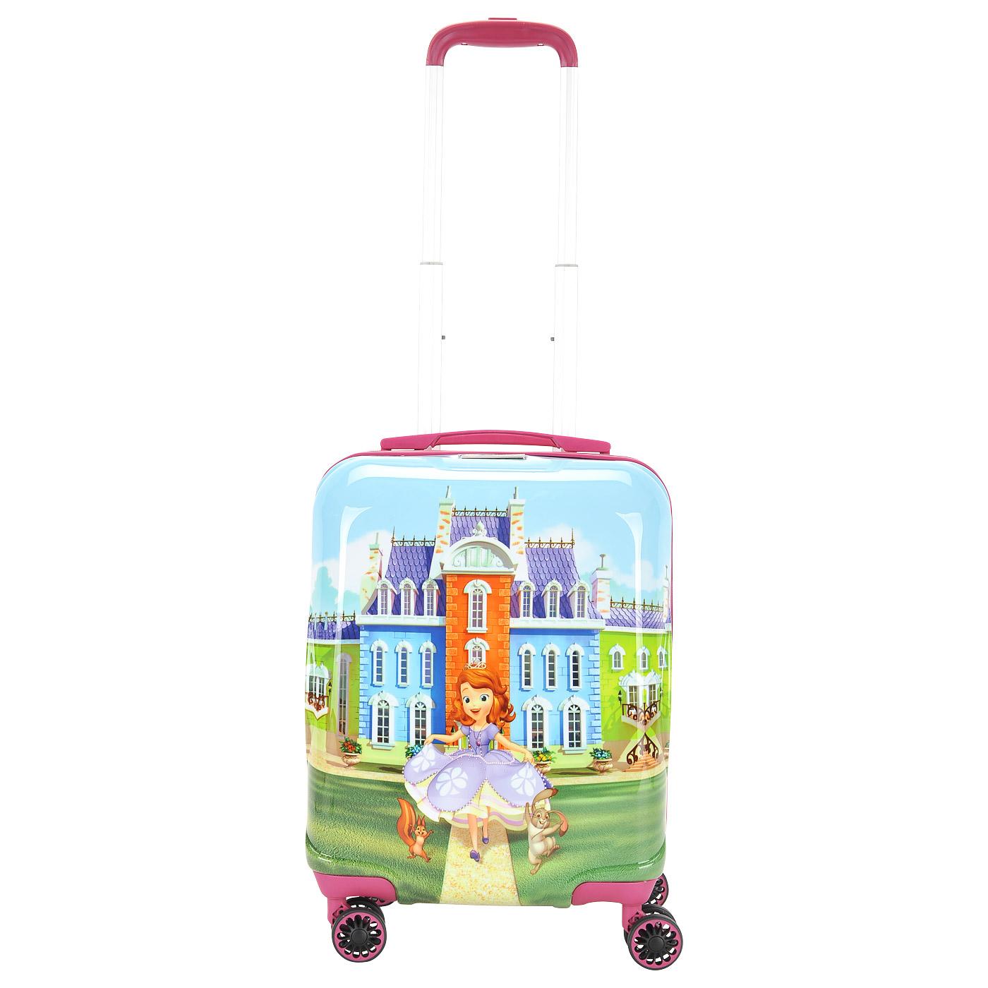 f272604b120c Детский чемодан на колесах Sun Voyage Disney SV017-AC043-16 ...